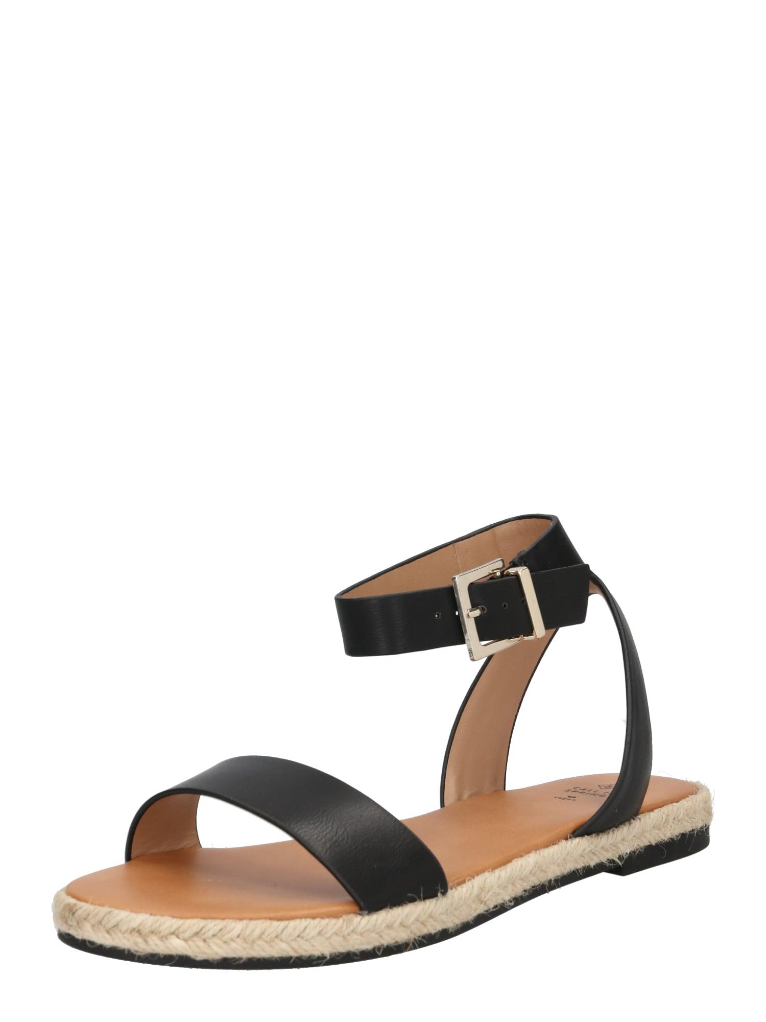 Páskové sandály REDLIP béžová černá CALL IT SPRING