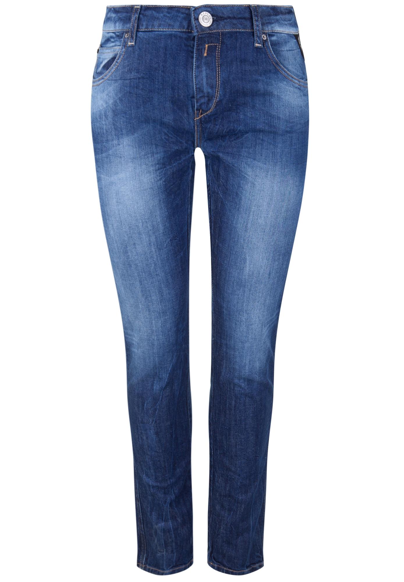 REPLAY Dames Jeans KATEWIN COMFORT DENIM blue denim