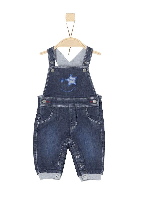 S.Oliver Junior Gefütterte Jeans-Latzhose