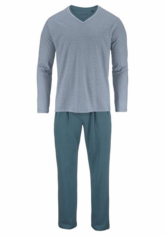 SCHIESSER Pyjama lang jetztbilligerkaufen