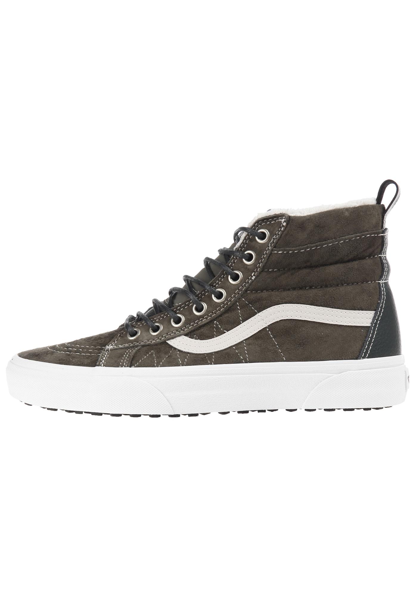 VANS, Heren Sneakers hoog 'Sk8-Hi MTE', basaltgrijs / wit