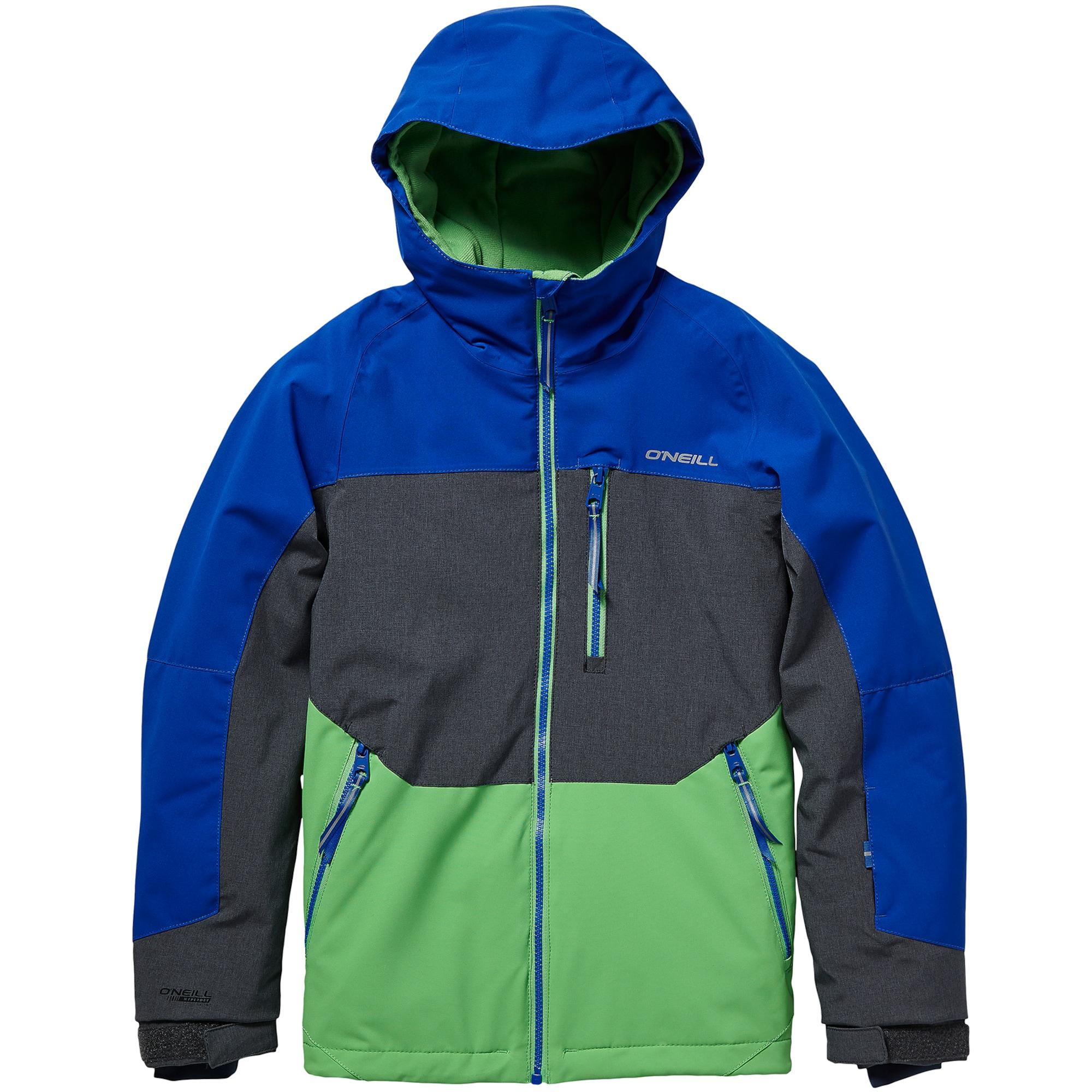 ONEILL Sportovní bunda modrá grafitová zelená O'NEILL