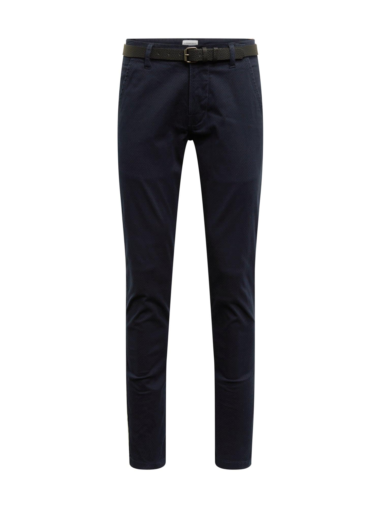 Chino kalhoty modrá Lindbergh