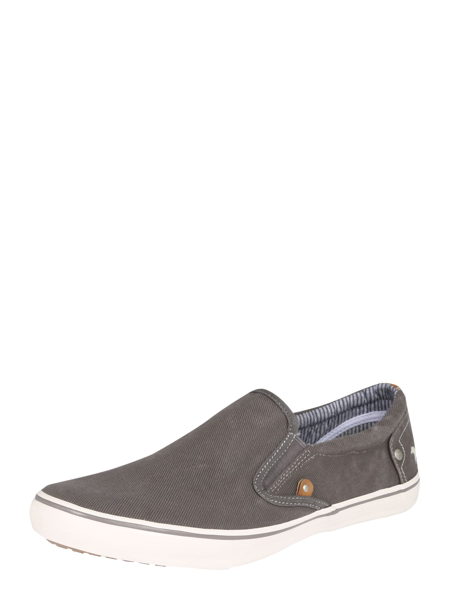 Slip on boty tmavě šedá MUSTANG
