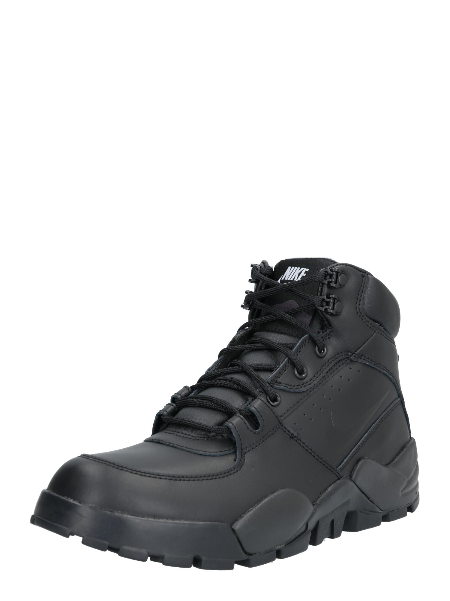 Nike Sportswear Nízke tenisky 'rhyodomo'  čierna / biela