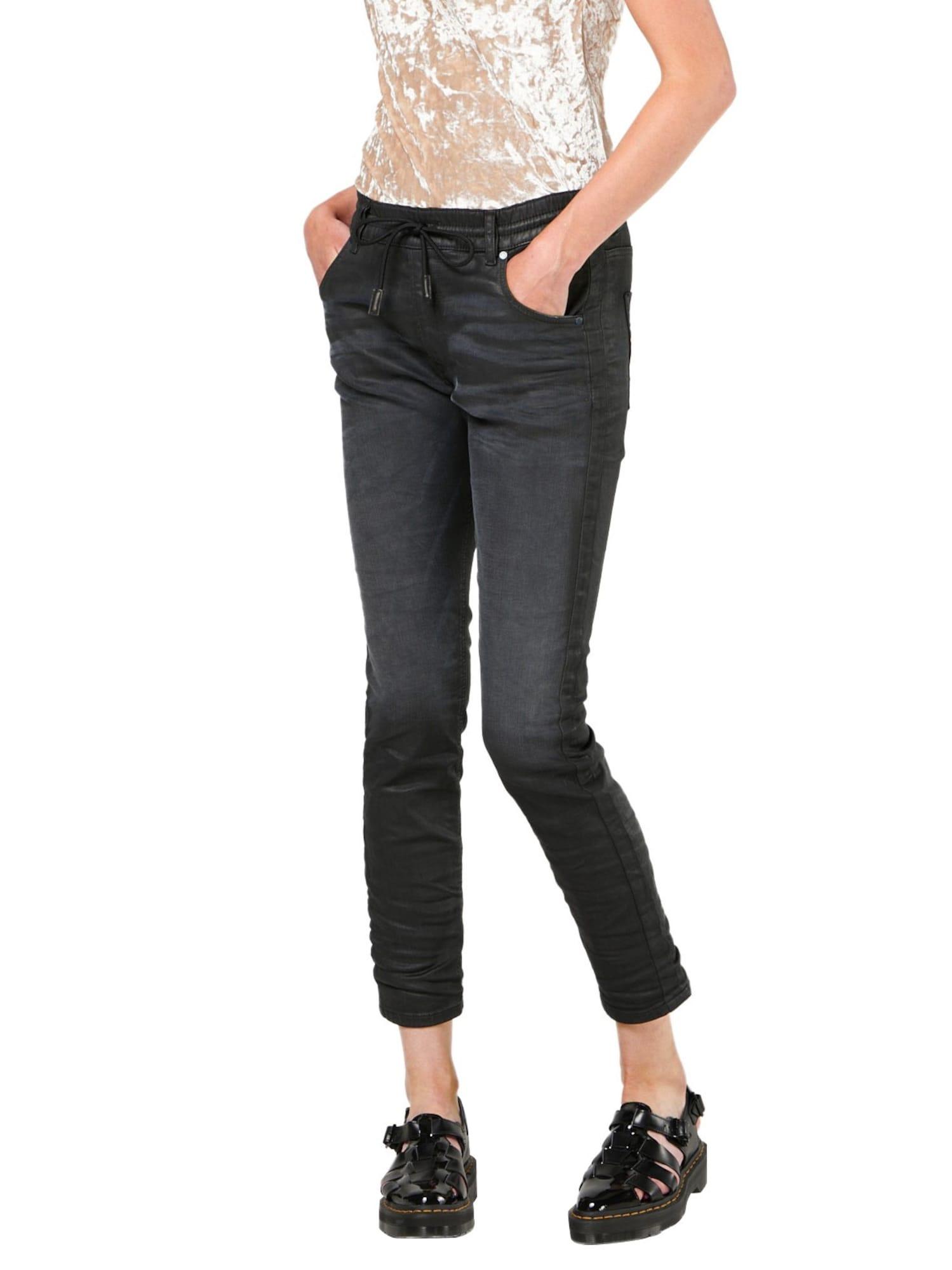 DIESEL Dames Jeans KRAILEY-NE-SB black denim