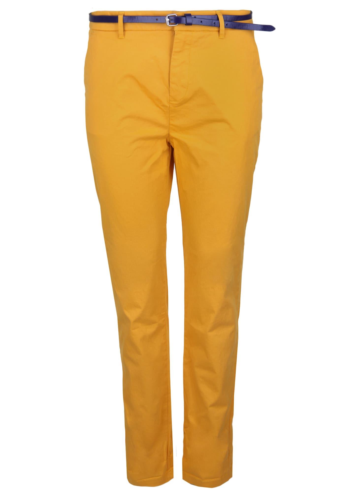 SCOTCH & SODA Kalhoty  žlutá / hořčicová