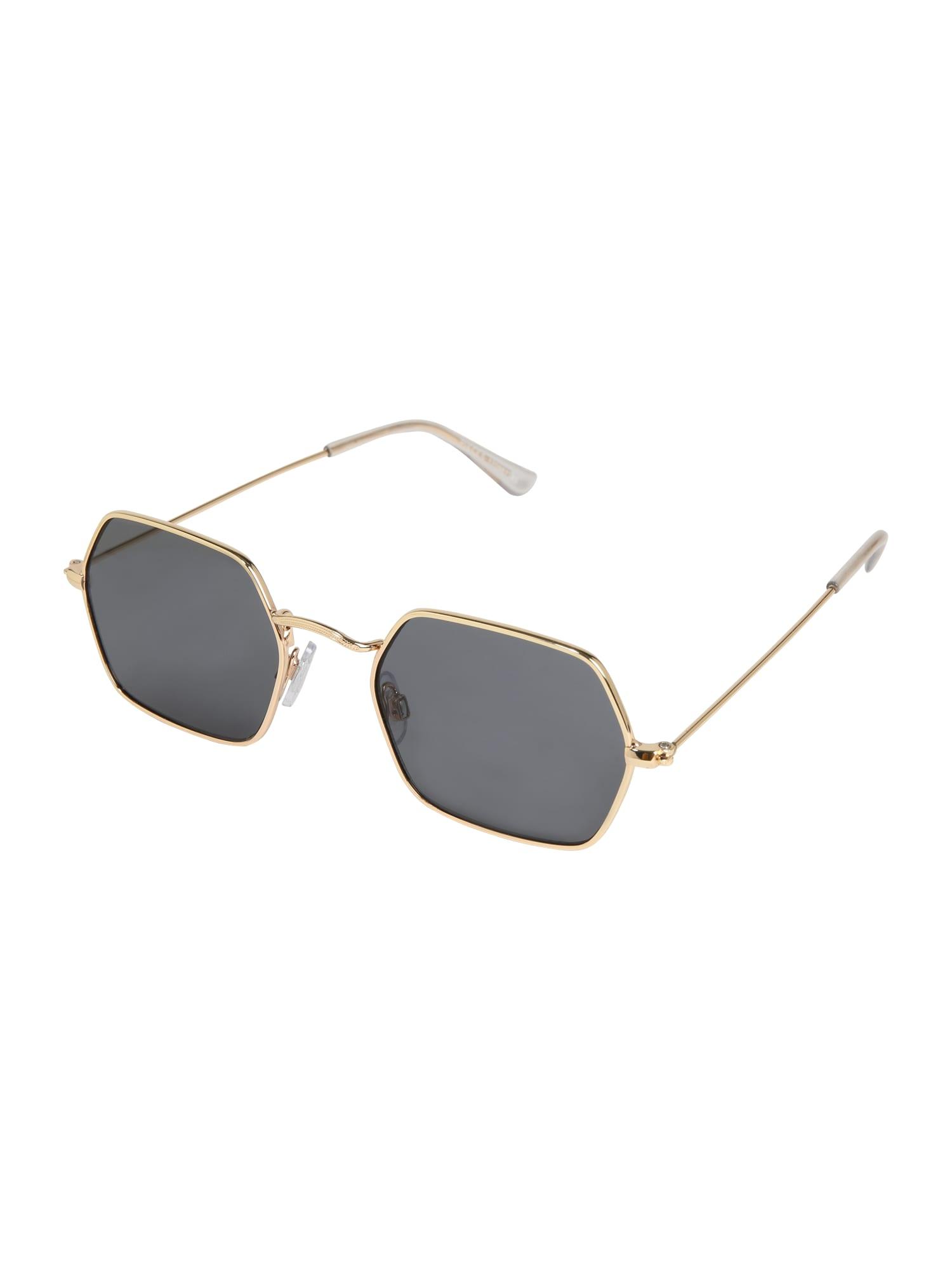 Sluneční brýle MELINDA SUNGLASSES D2D zlatá PIECES
