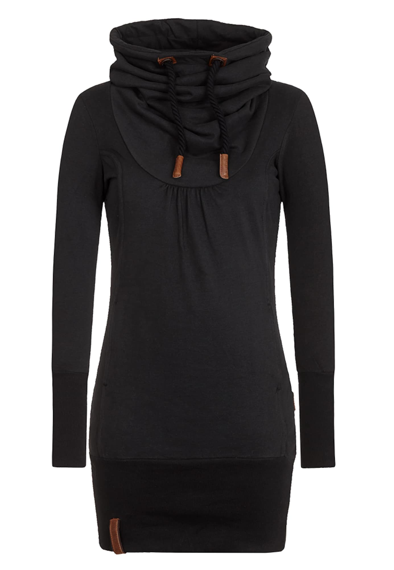 Naketano, Dames Sweatshirt, bruin / zwart