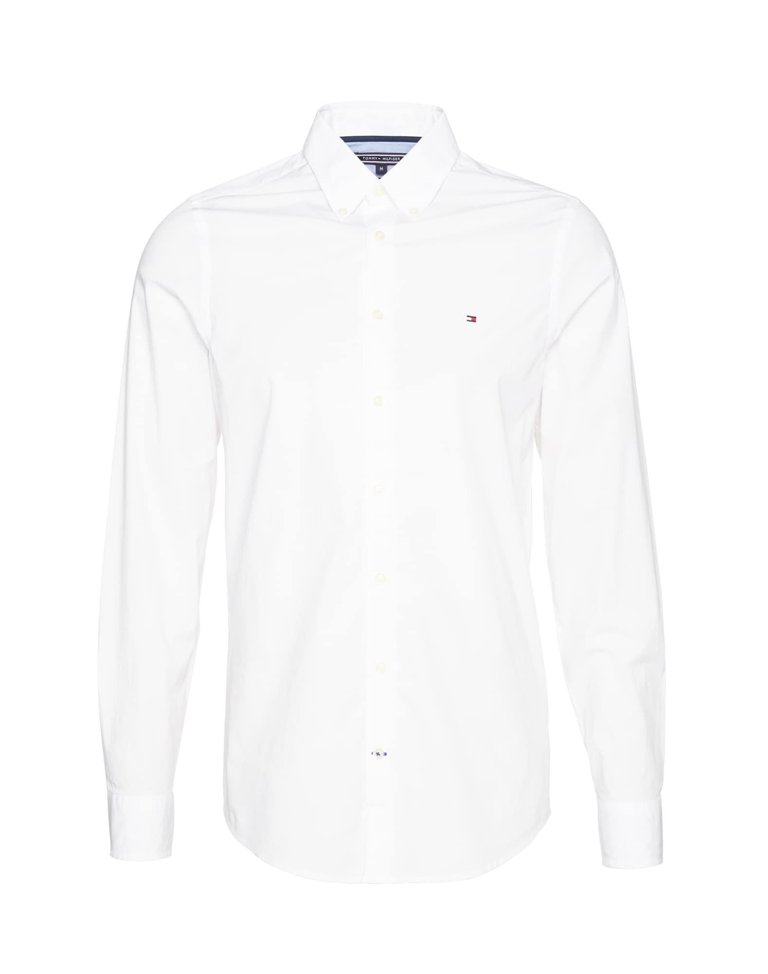 Společenská košile bílá TOMMY HILFIGER
