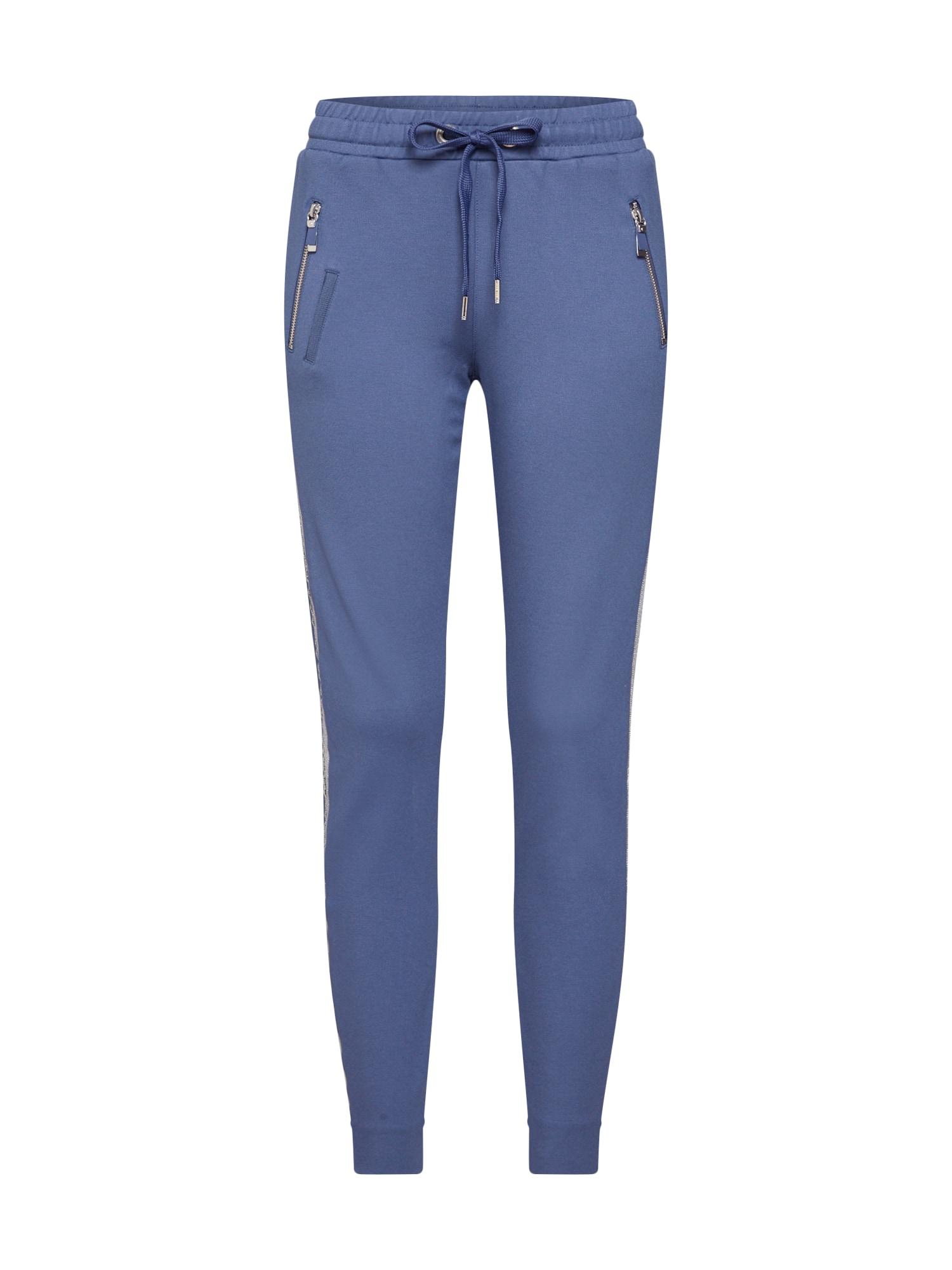 Kalhoty Levon Carell Pant indigo stříbrná MOS MOSH