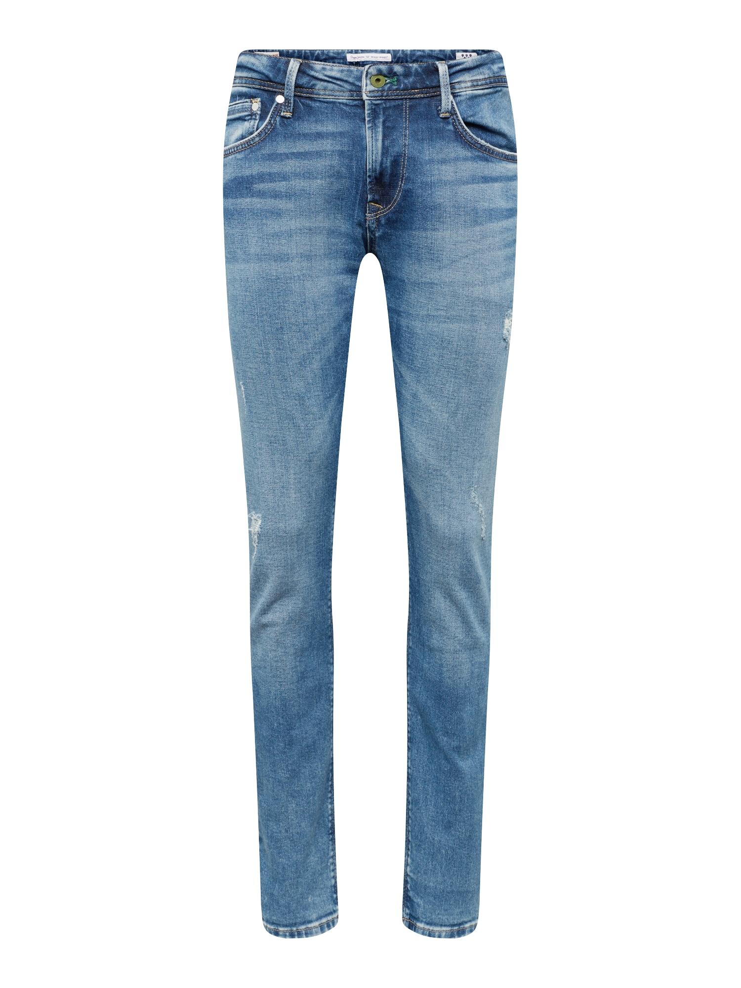 Džíny STANLEY blue denim Pepe Jeans