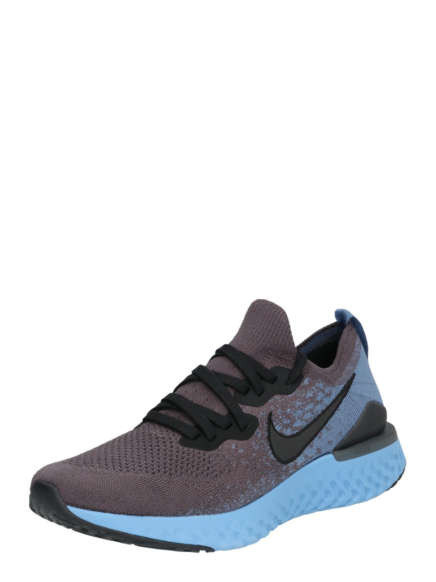 Běžecká obuv Epic React Flyknit 2 modrá tmavě šedá NIKE