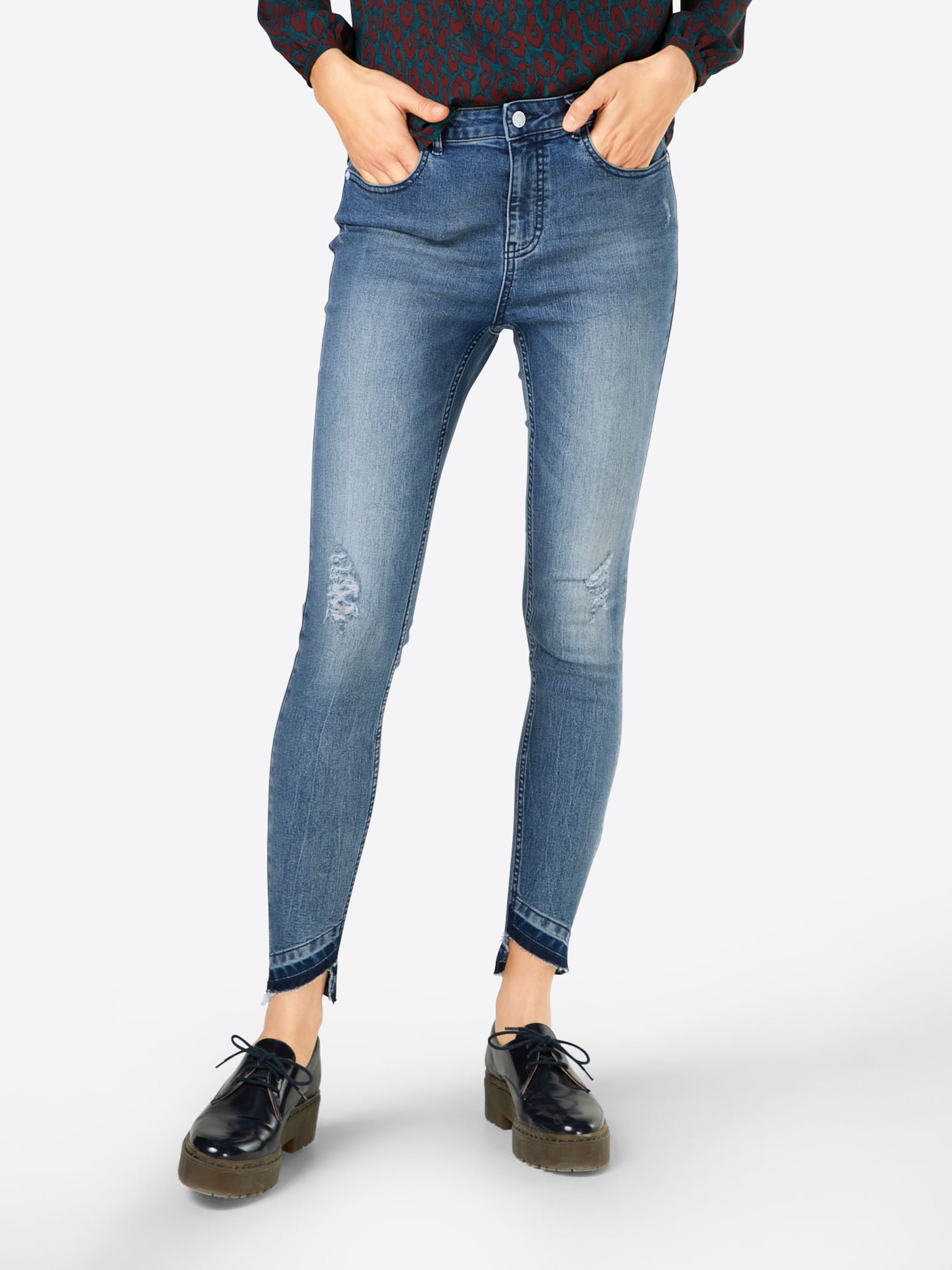 Jeans 'JDYSKINNY HIGH CALL ANK'