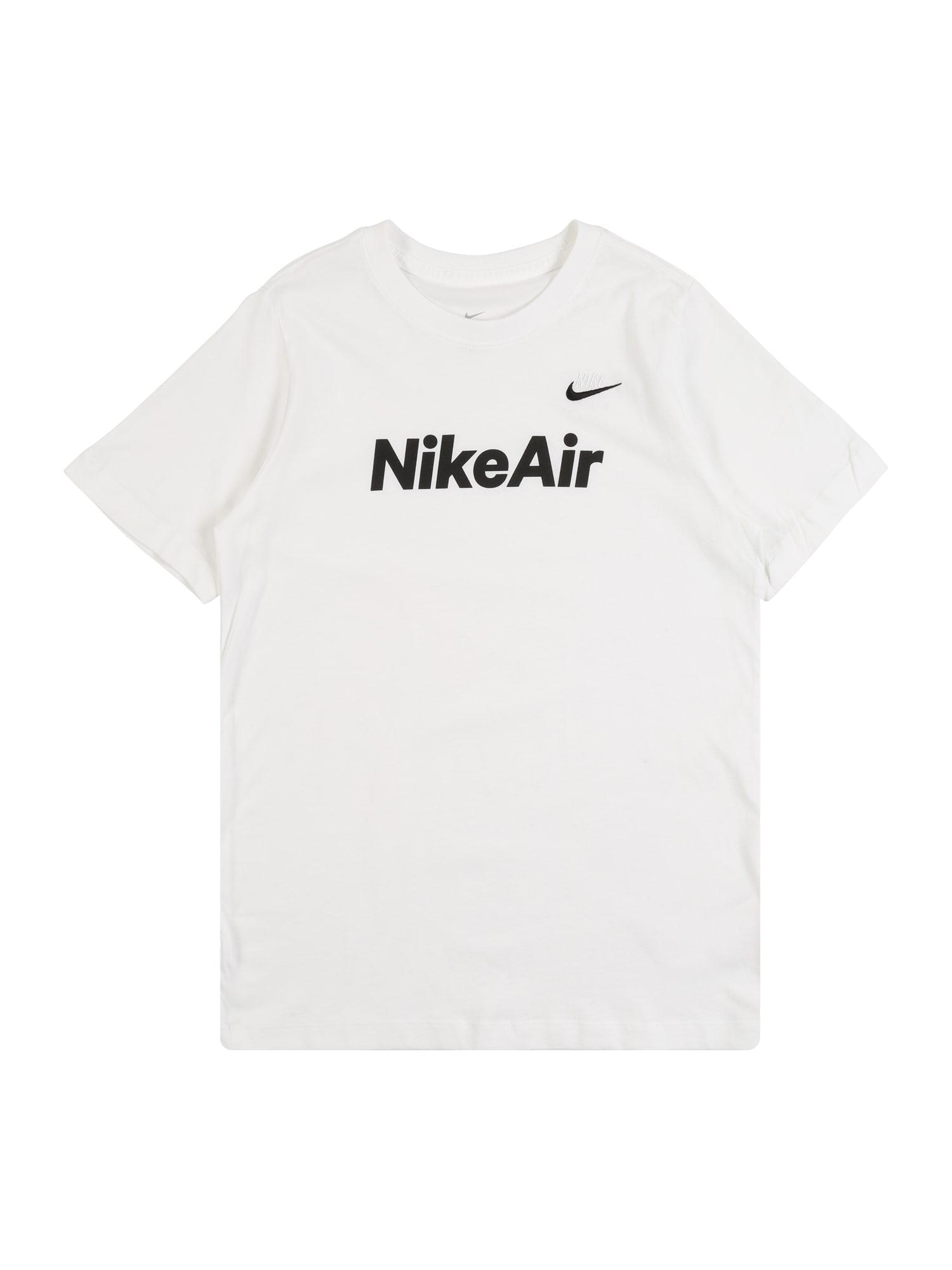 Nike Sportswear Tričko 'B NSW TEE NIKE AIR C&S'  biela