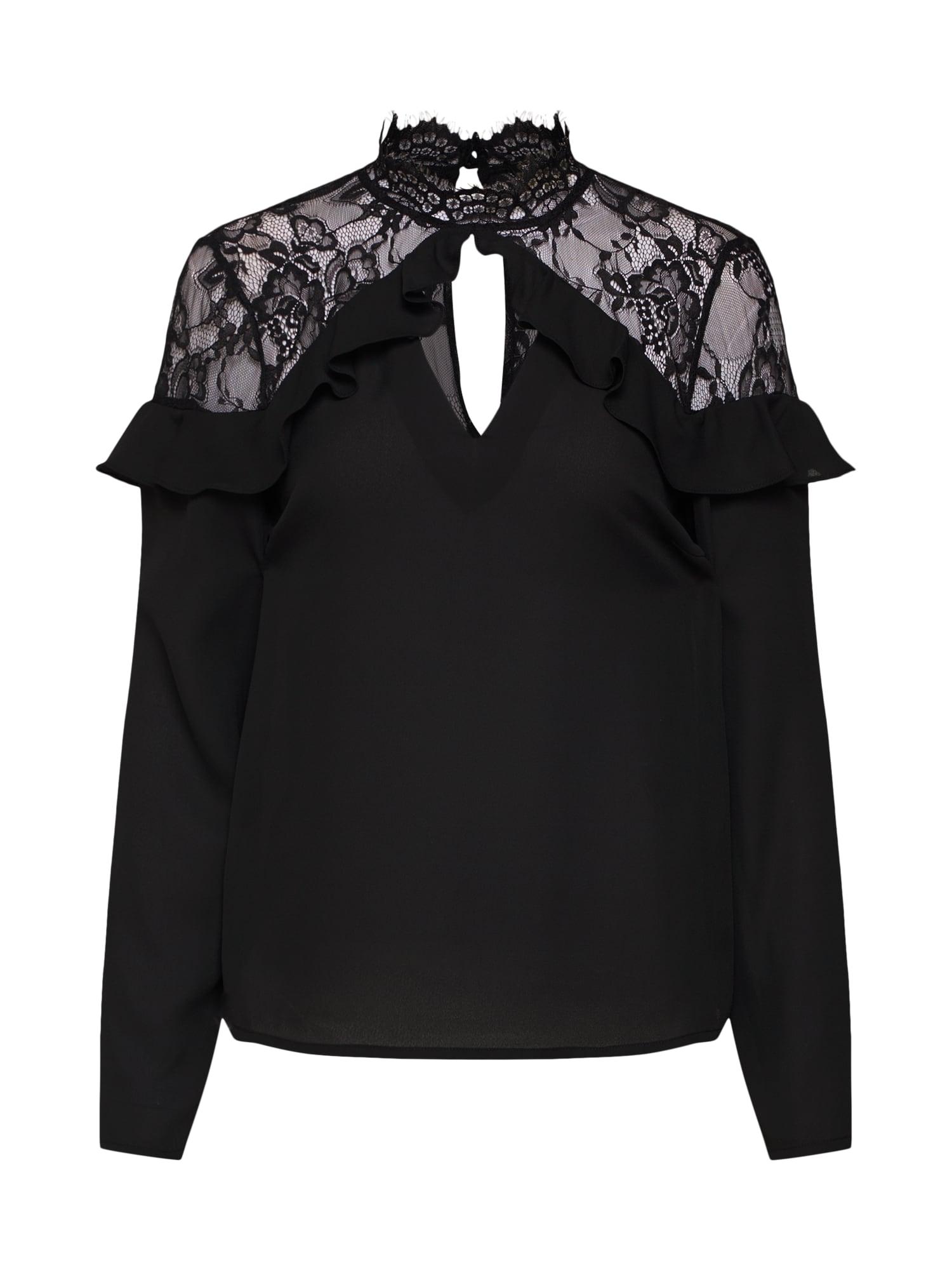 Halenka BASIL černá Fashion Union