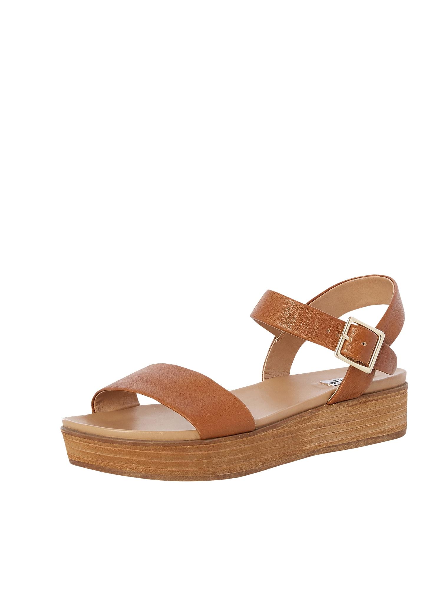 Páskové sandály LILYBETH koňaková Dune LONDON
