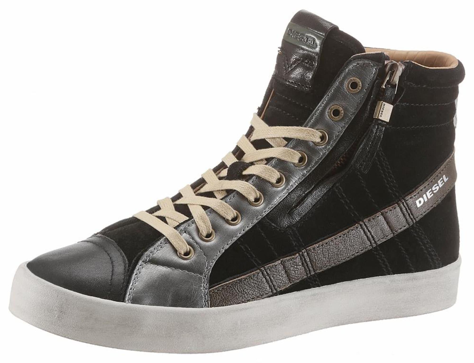 Sneaker 'D-String Plus'   Bekleidung > Wäsche   Dunkelgrau - Silber   Diesel