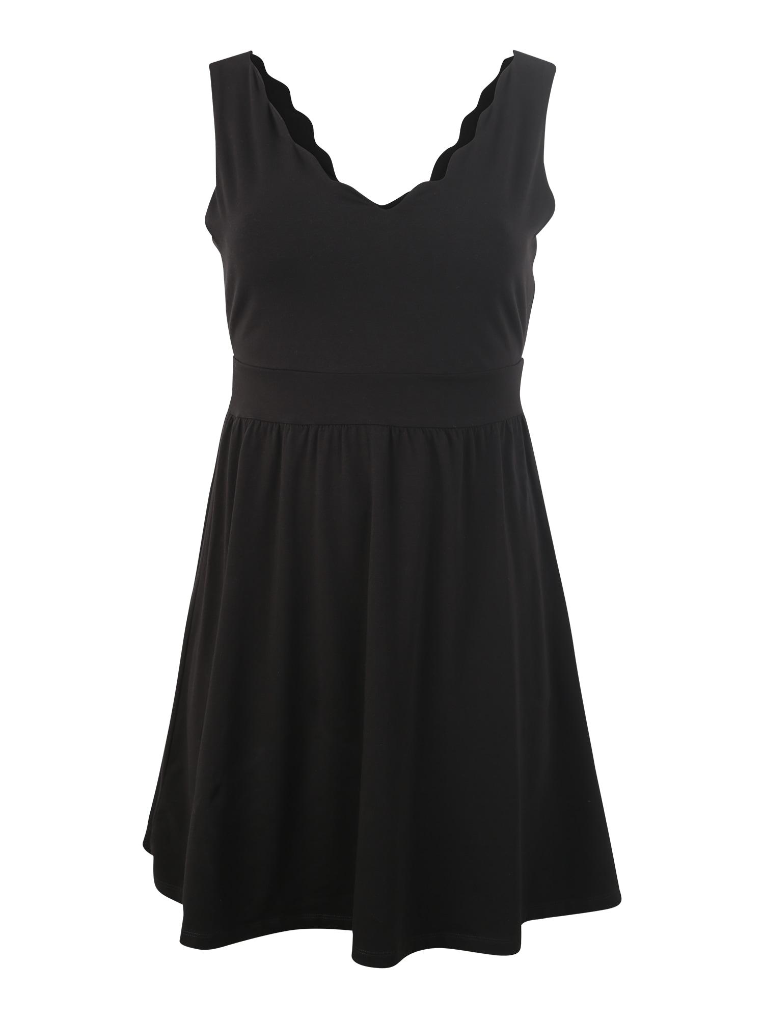 Šaty Frauke černá ABOUT YOU Curvy