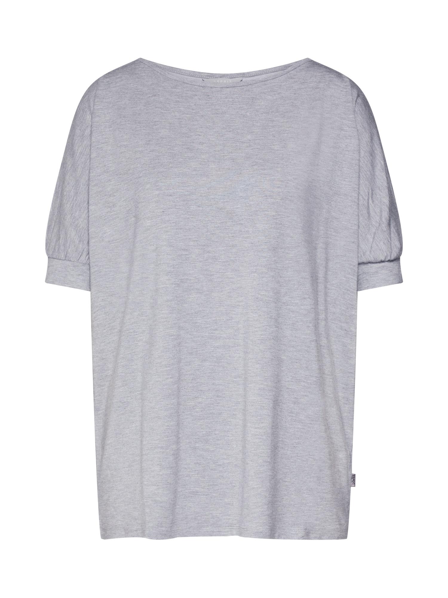 Tričko na spaní šedá ESPRIT
