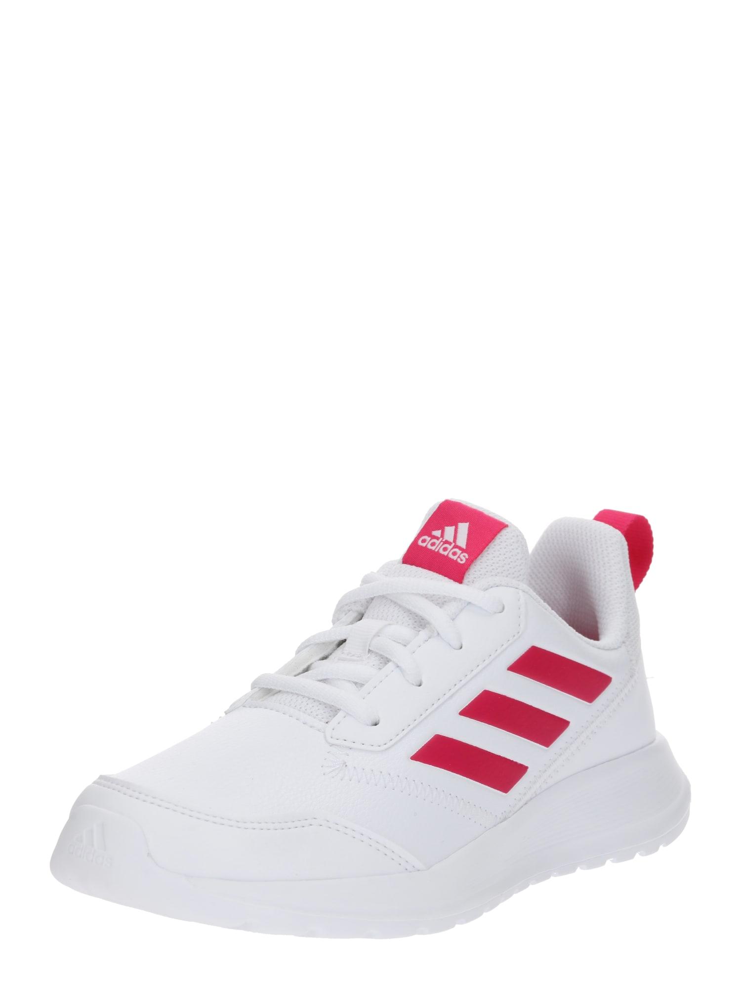 Sportovní boty Alta Run K svítivě růžová bílá ADIDAS PERFORMANCE