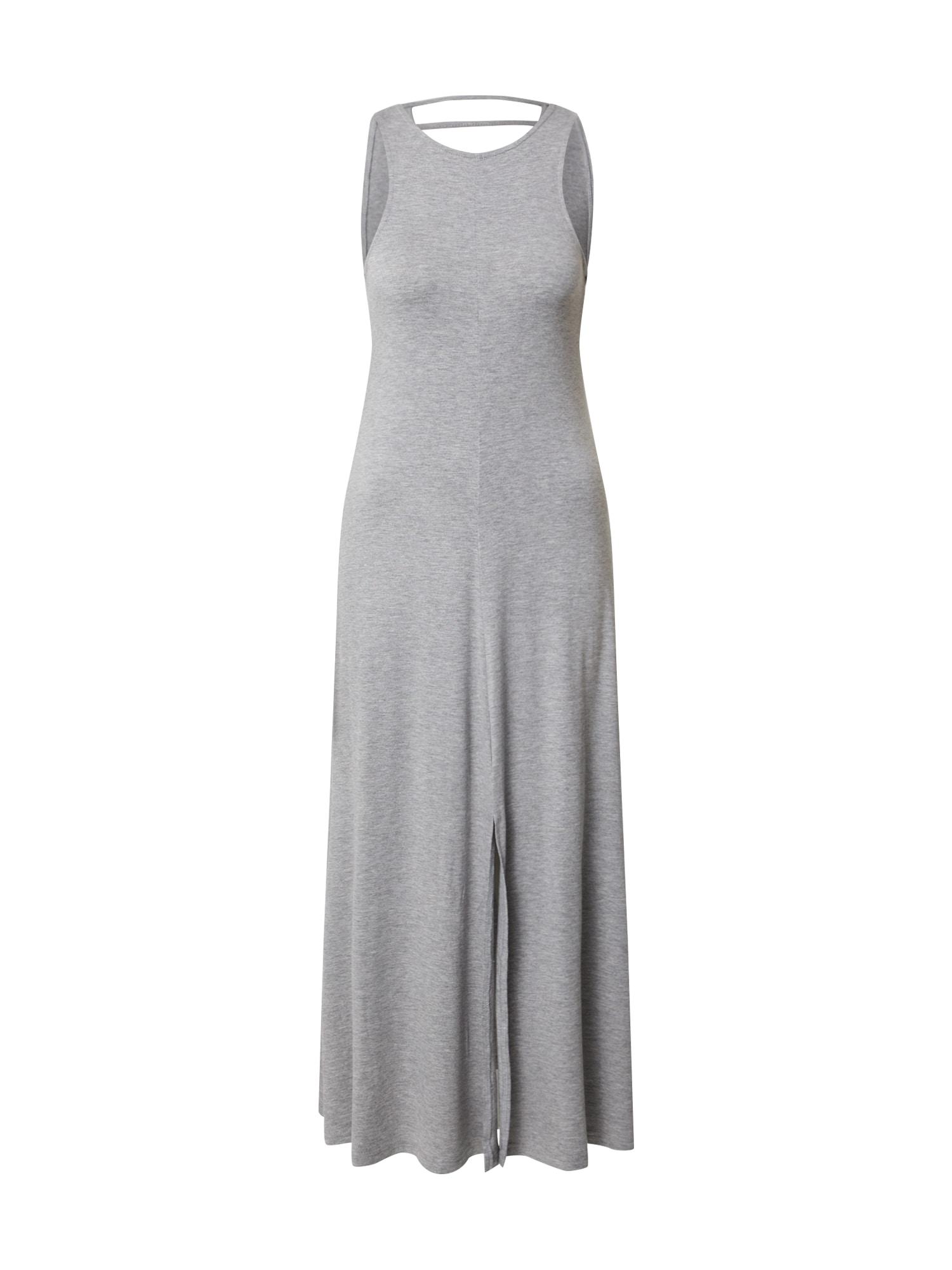 Noisy May Šaty  šedá / šedý melír