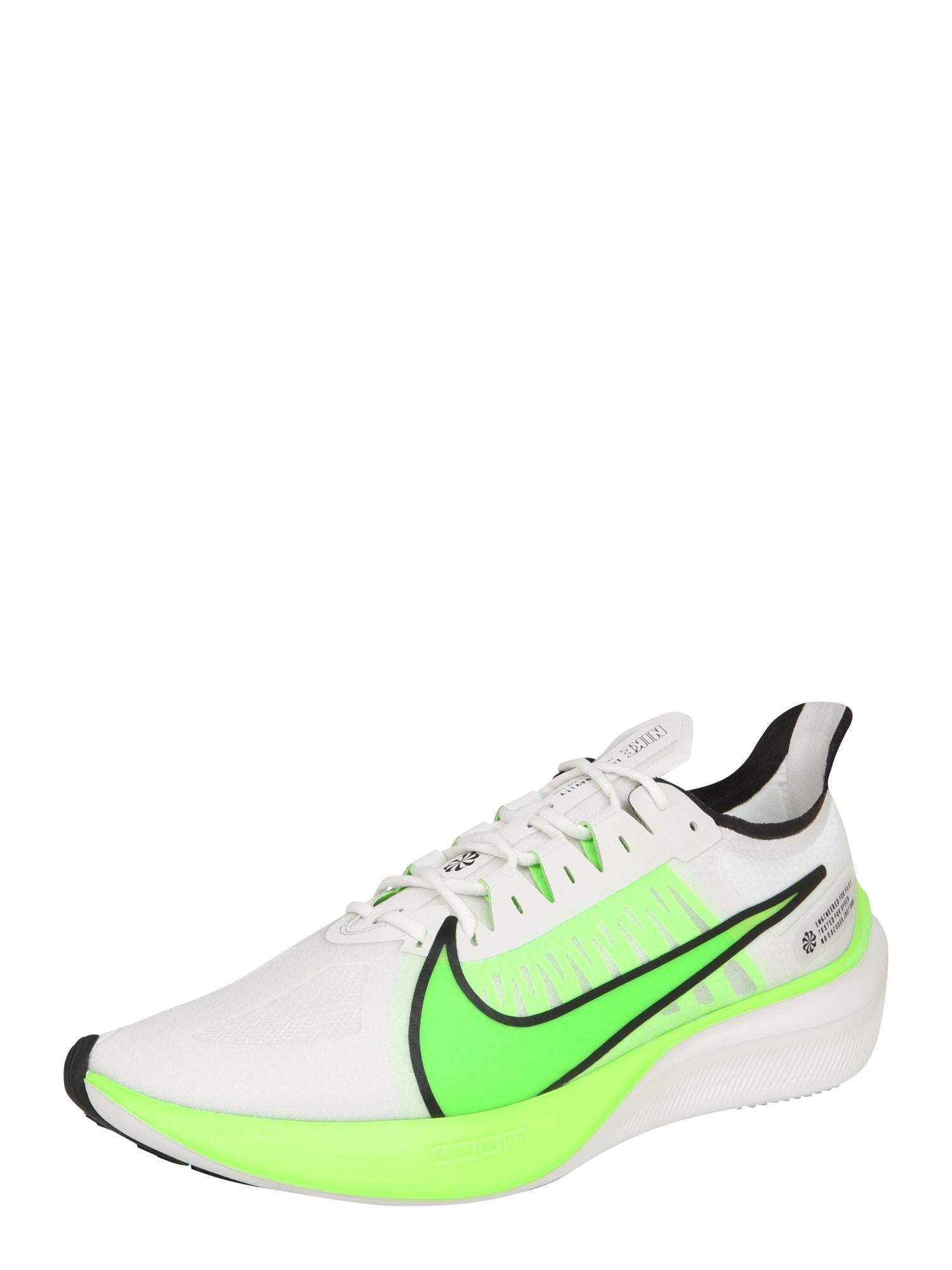 Běžecká obuv ZOOM GRAVITY svítivě zelená bílá NIKE