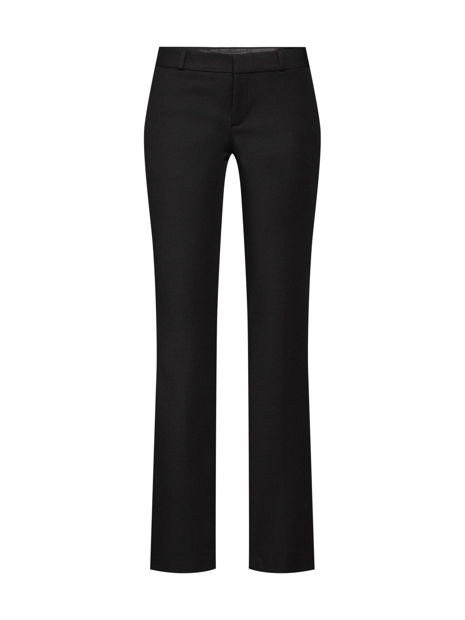 Kalhoty LOGAN BI STRETCH SOLID PANT černá Banana Republic