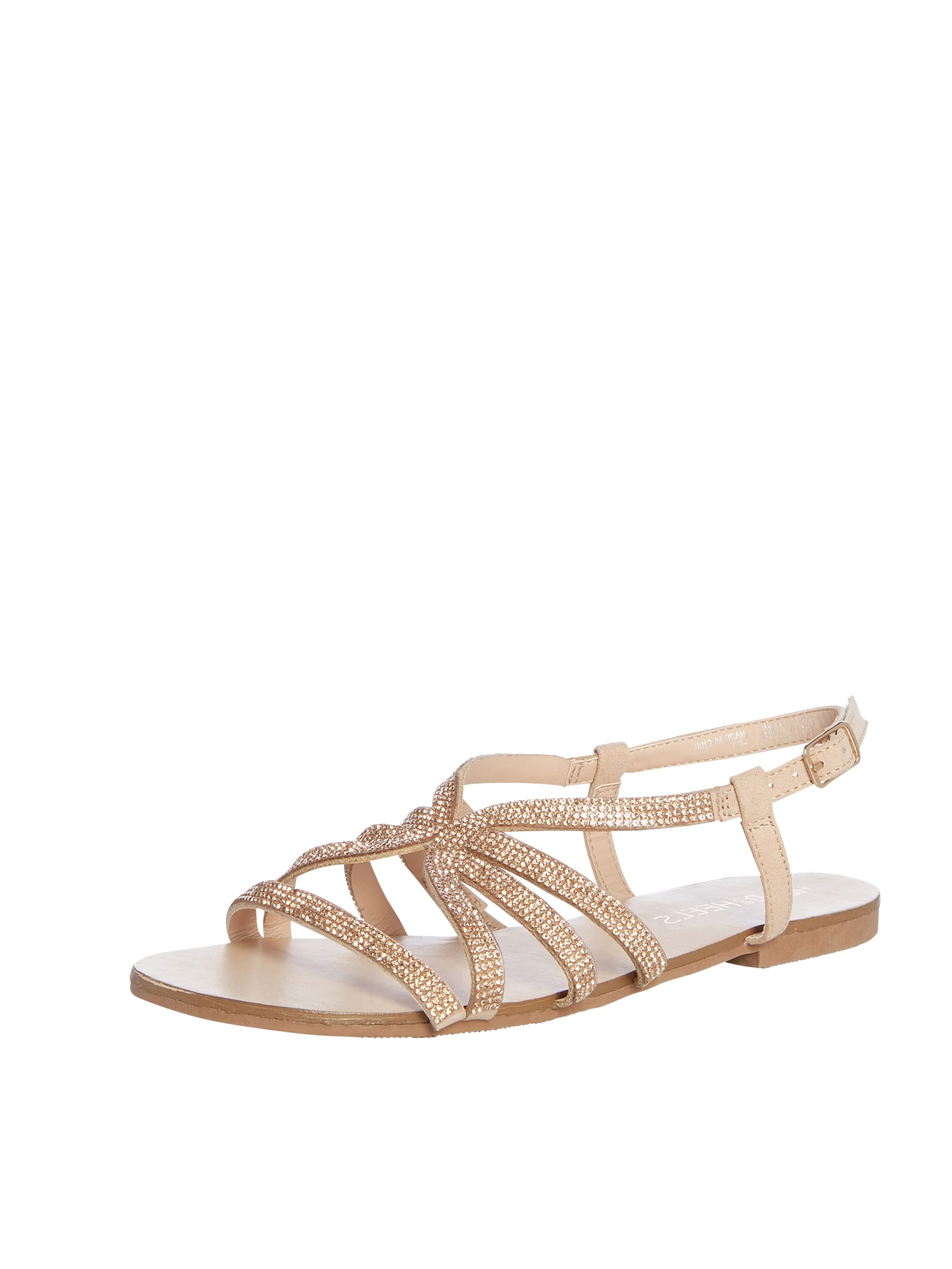 Sandály NEEMA zlatá Head Over Heels