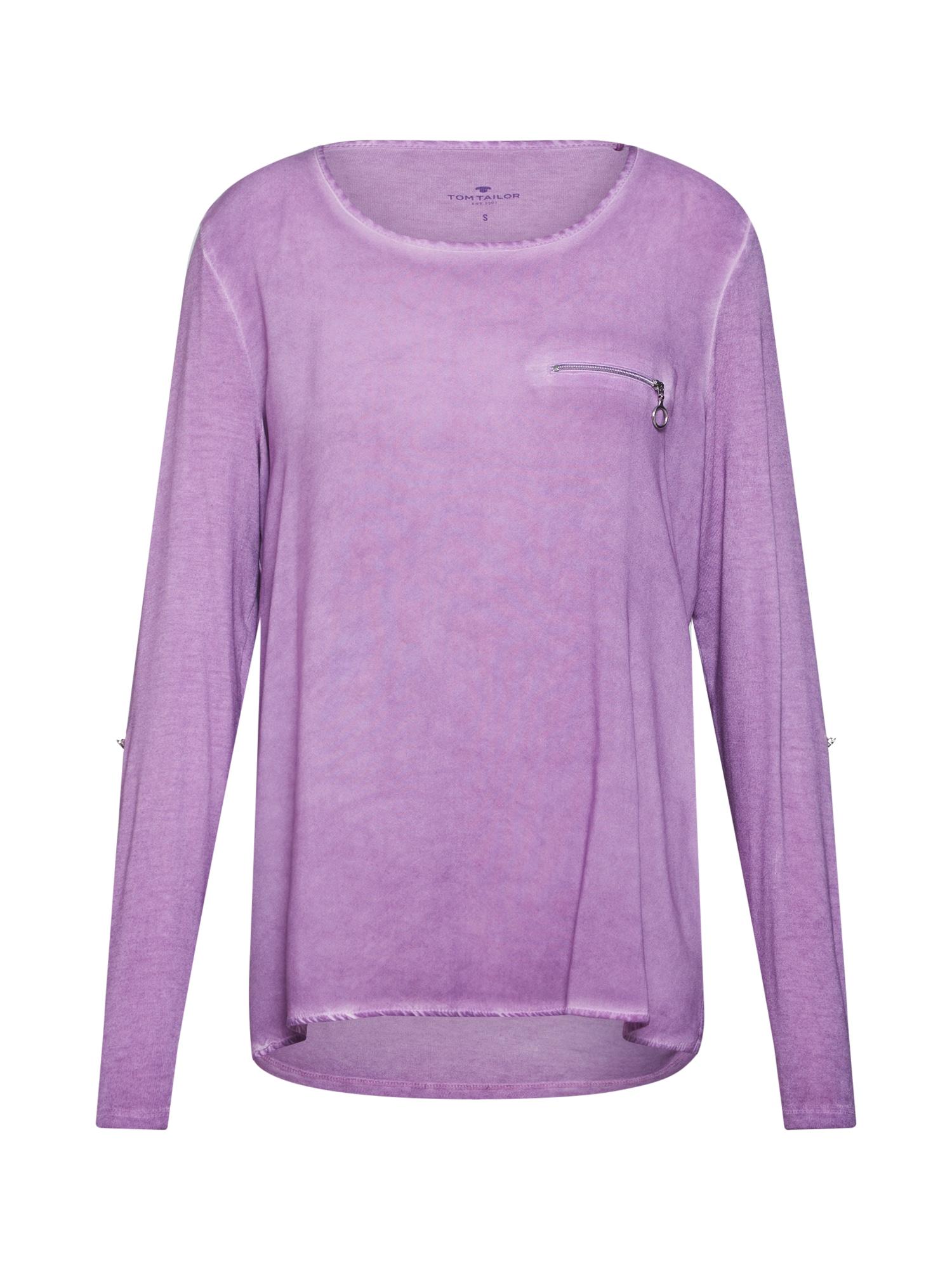 TOM TAILOR Tričko  fialová