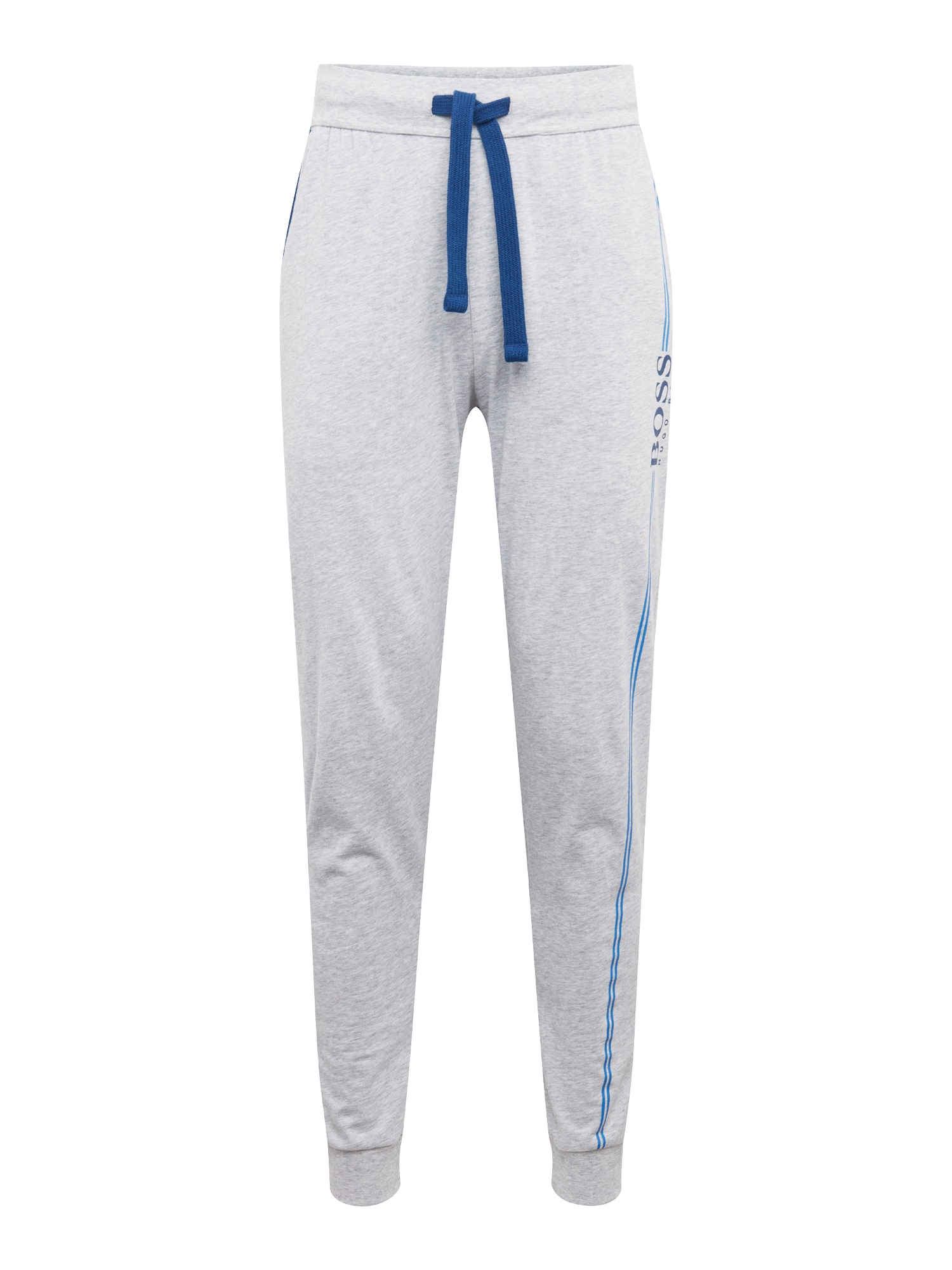 Kalhoty Authentic 10121122 02 modrá šedá BOSS