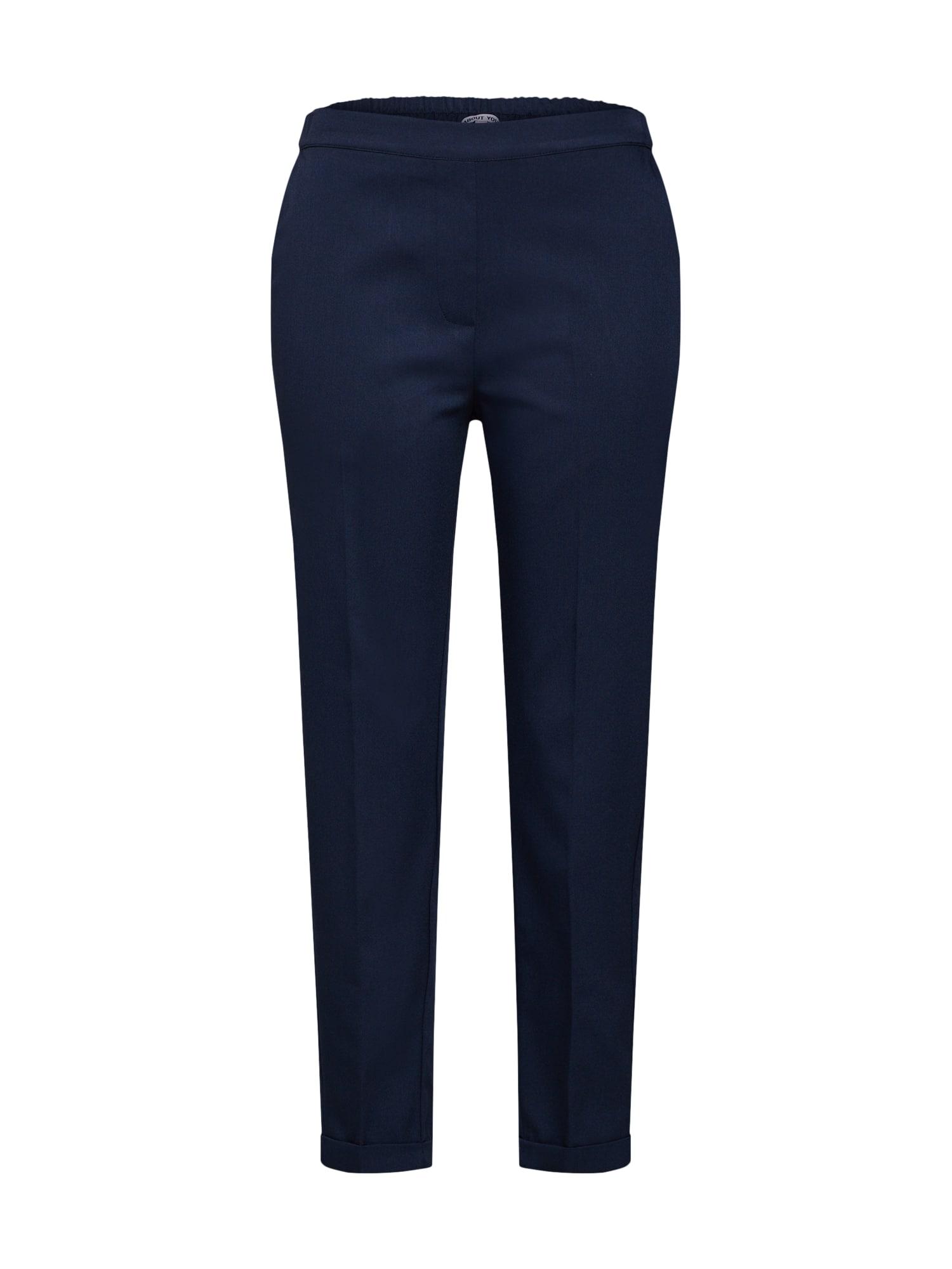 Kalhoty s puky Louisa tmavě modrá ABOUT YOU