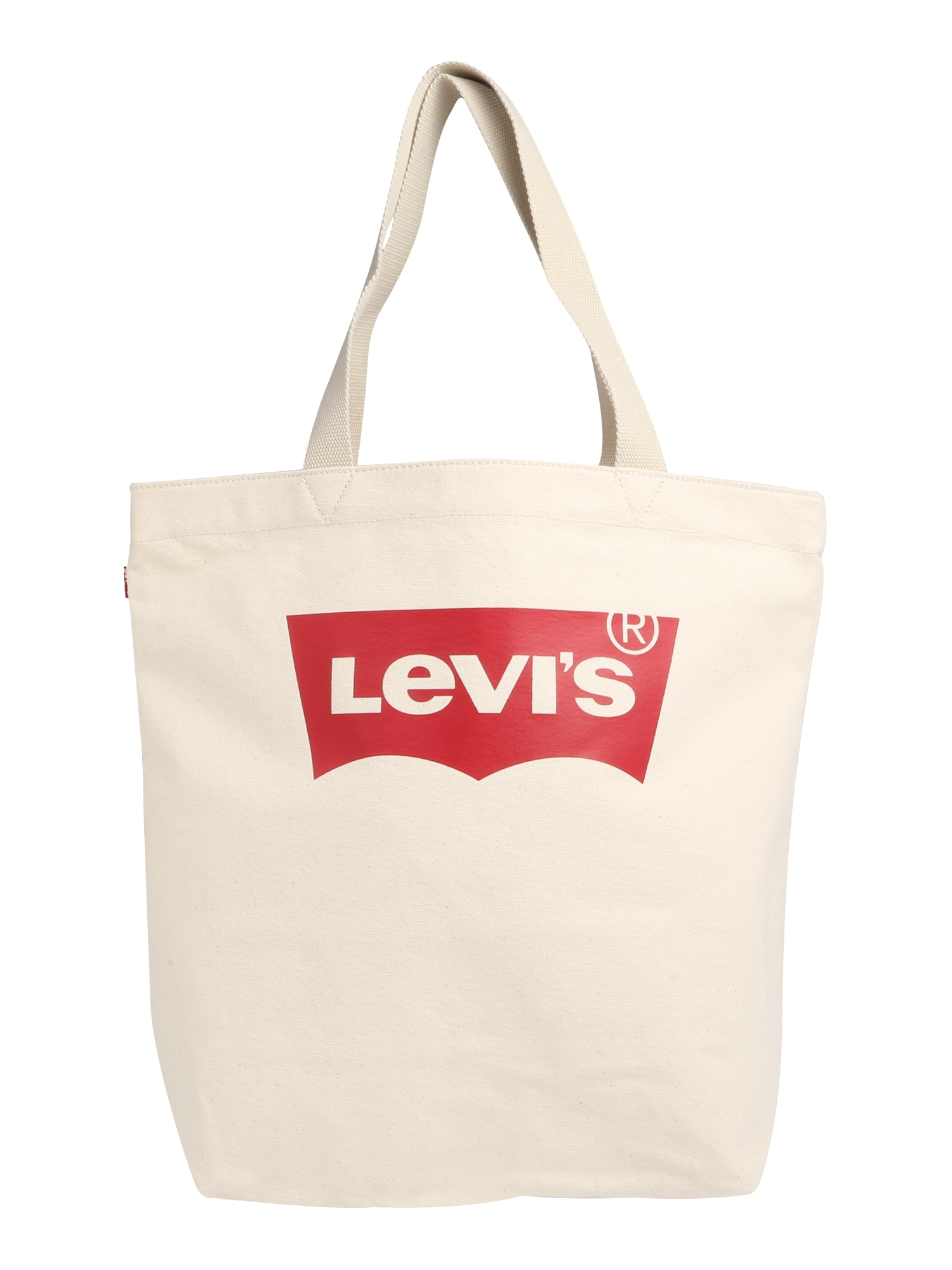 LEVI'S Dames Shopper Batwing rood offwhite