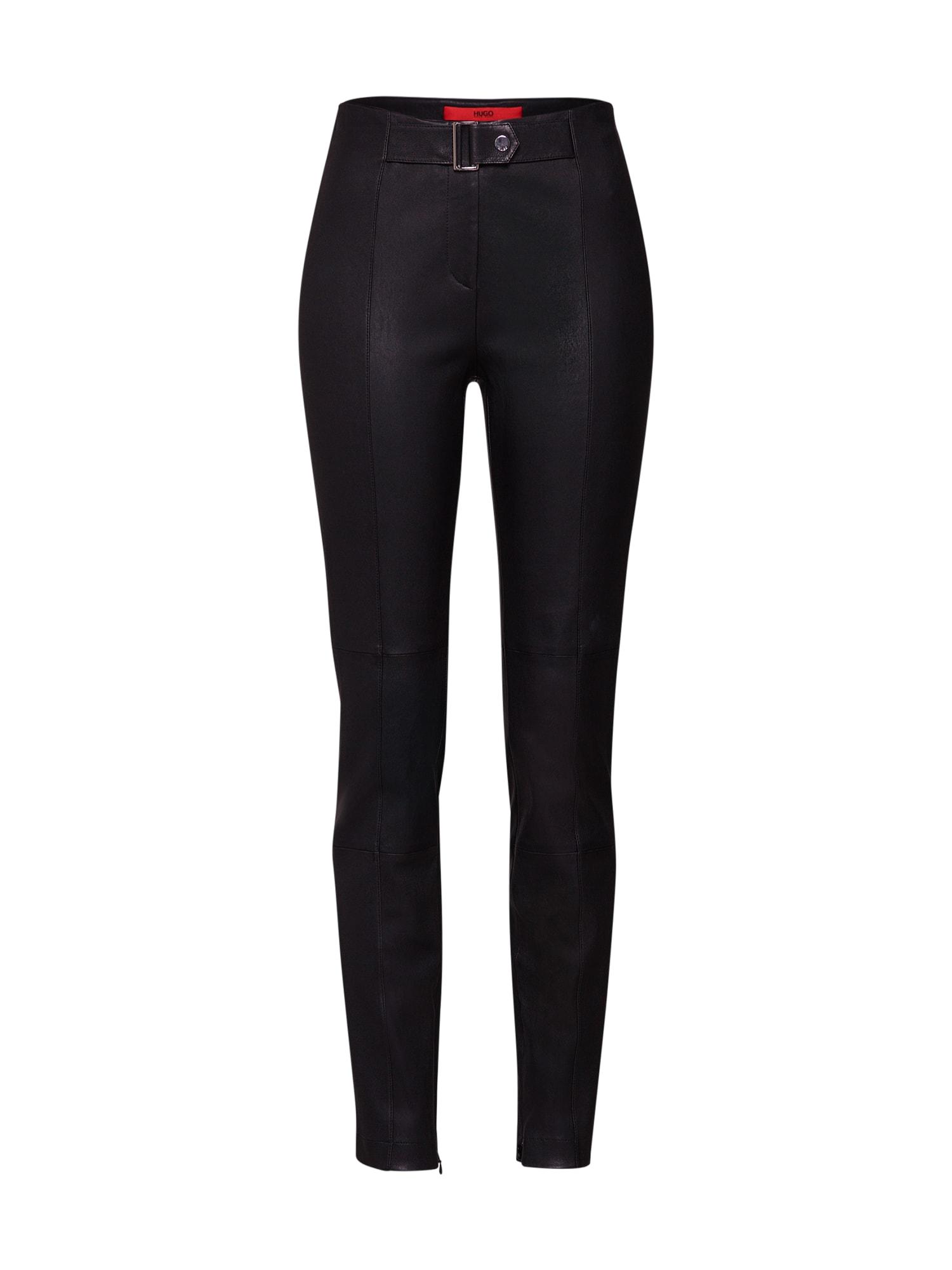Kalhoty Lonea černá HUGO