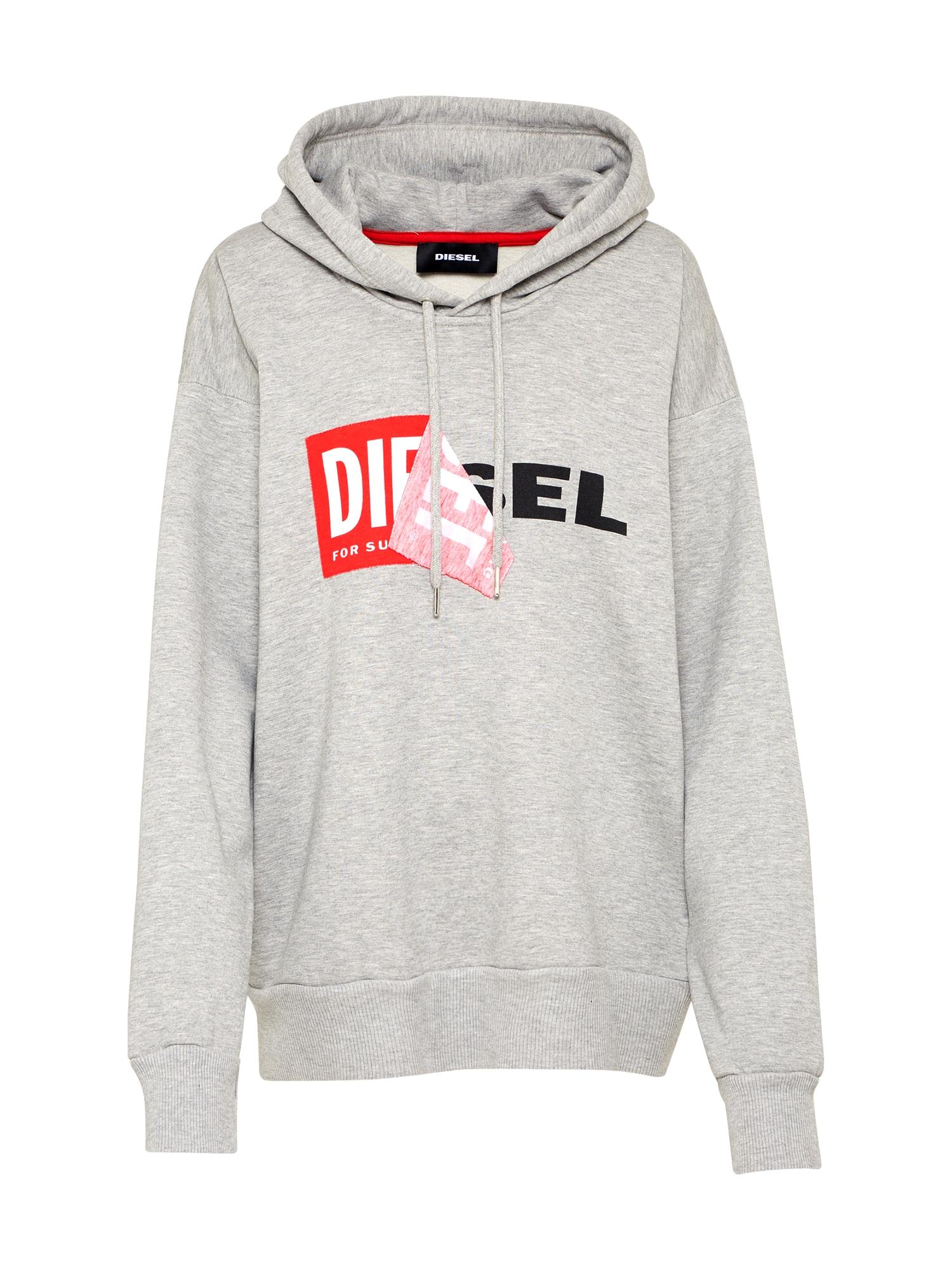 DIESEL Dames Sweatshirt F-ALBY-FL-A grijs