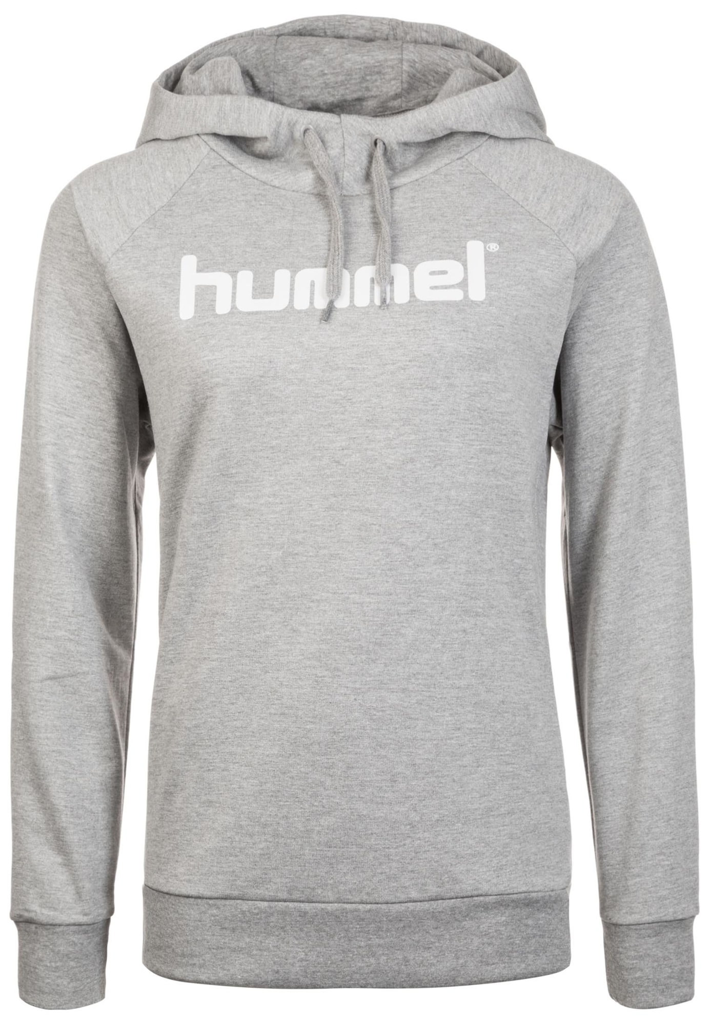 Kapuzenpullover | Bekleidung > Pullover > Kapuzenpullover | Grau - Weiß | Hummel