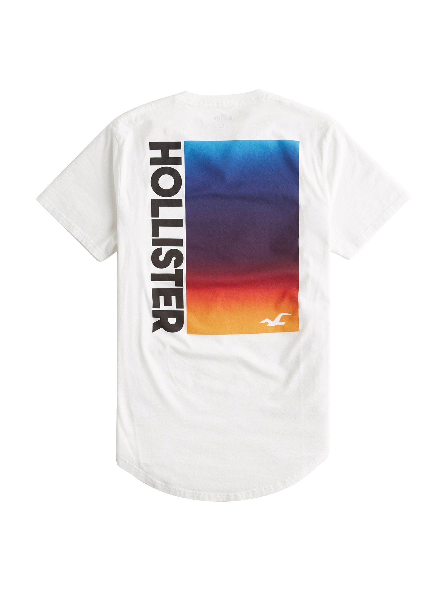 Shirt 'SS OMBRE PRINT LOGO'