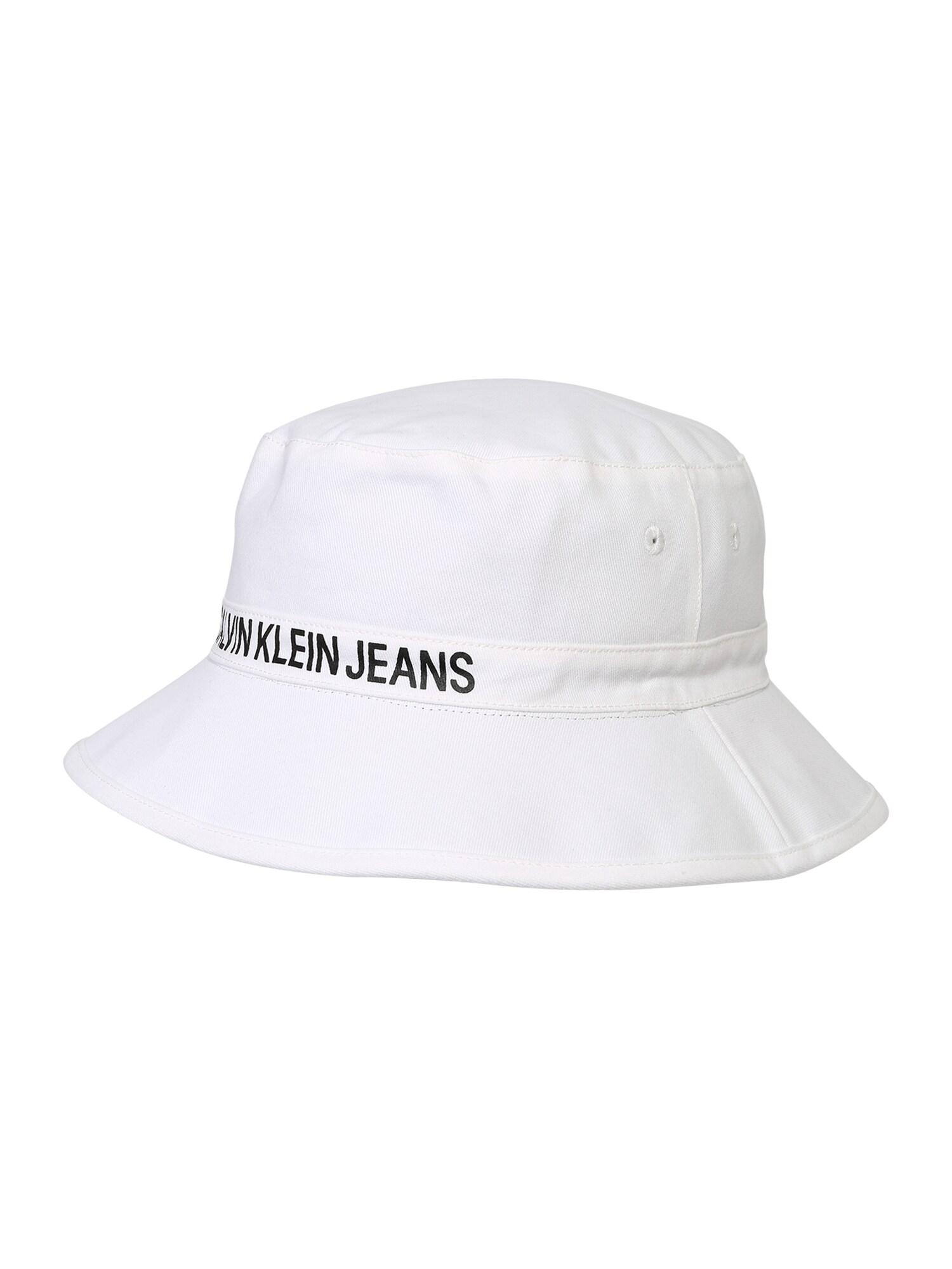 Klobouk Rev. Bucket černá bílá Calvin Klein Jeans