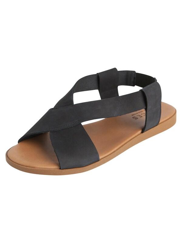 PIECES Leder Sandalen jetztbilligerkaufen