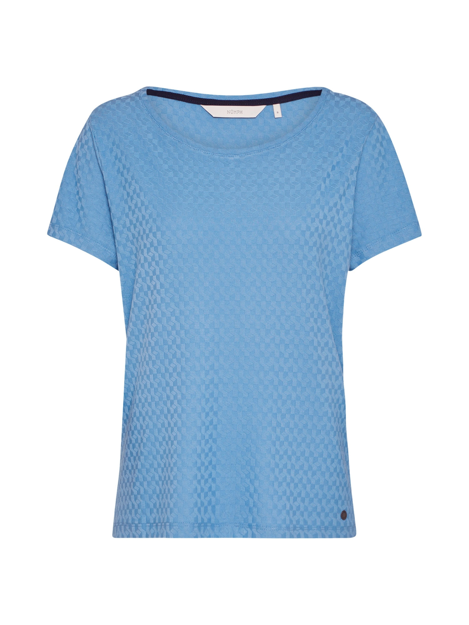 NMPH, Dames Shirt 'Addisyn', blauw