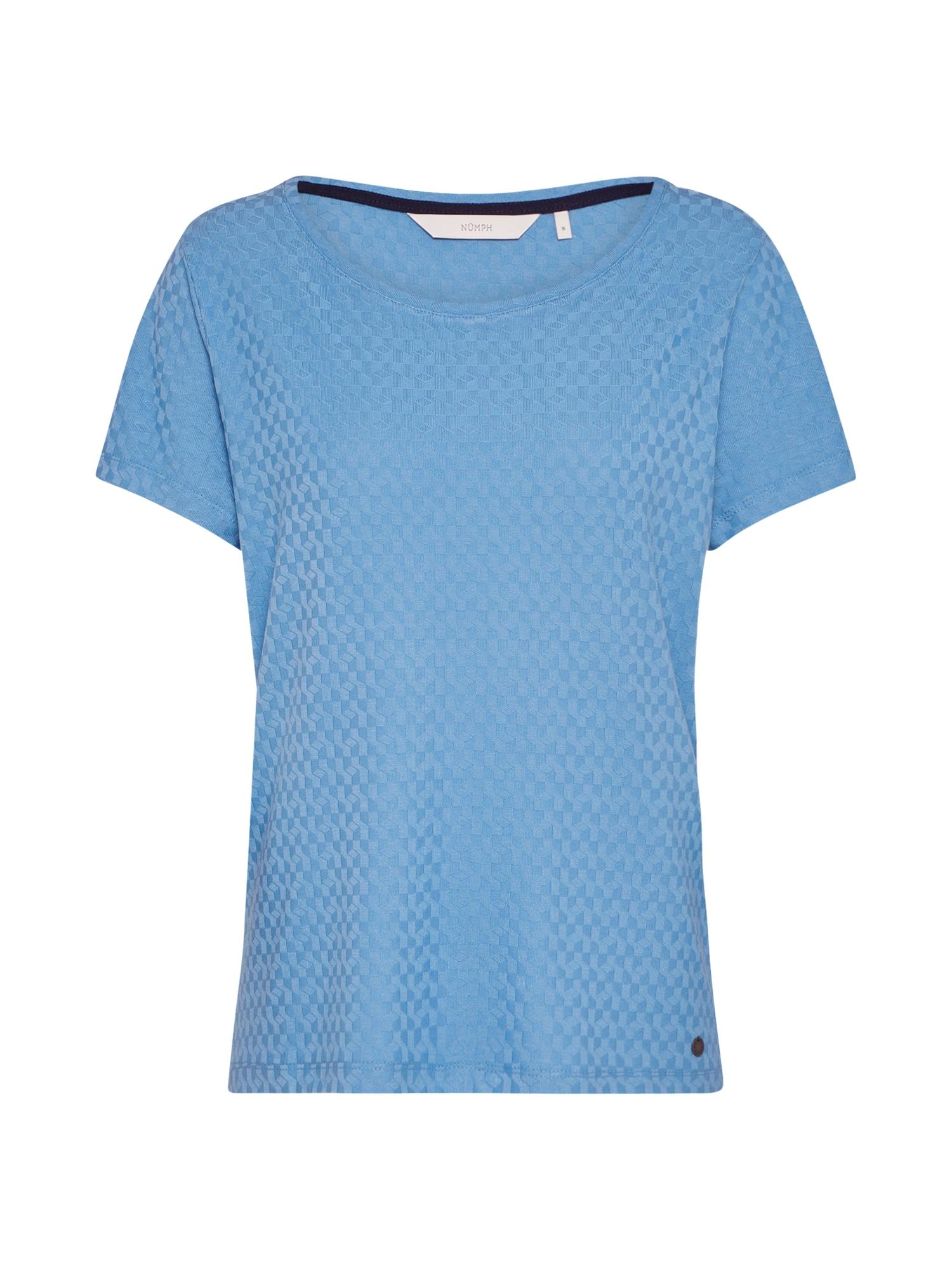 NMPH, Dames Shirt 'Addisyn', blauw