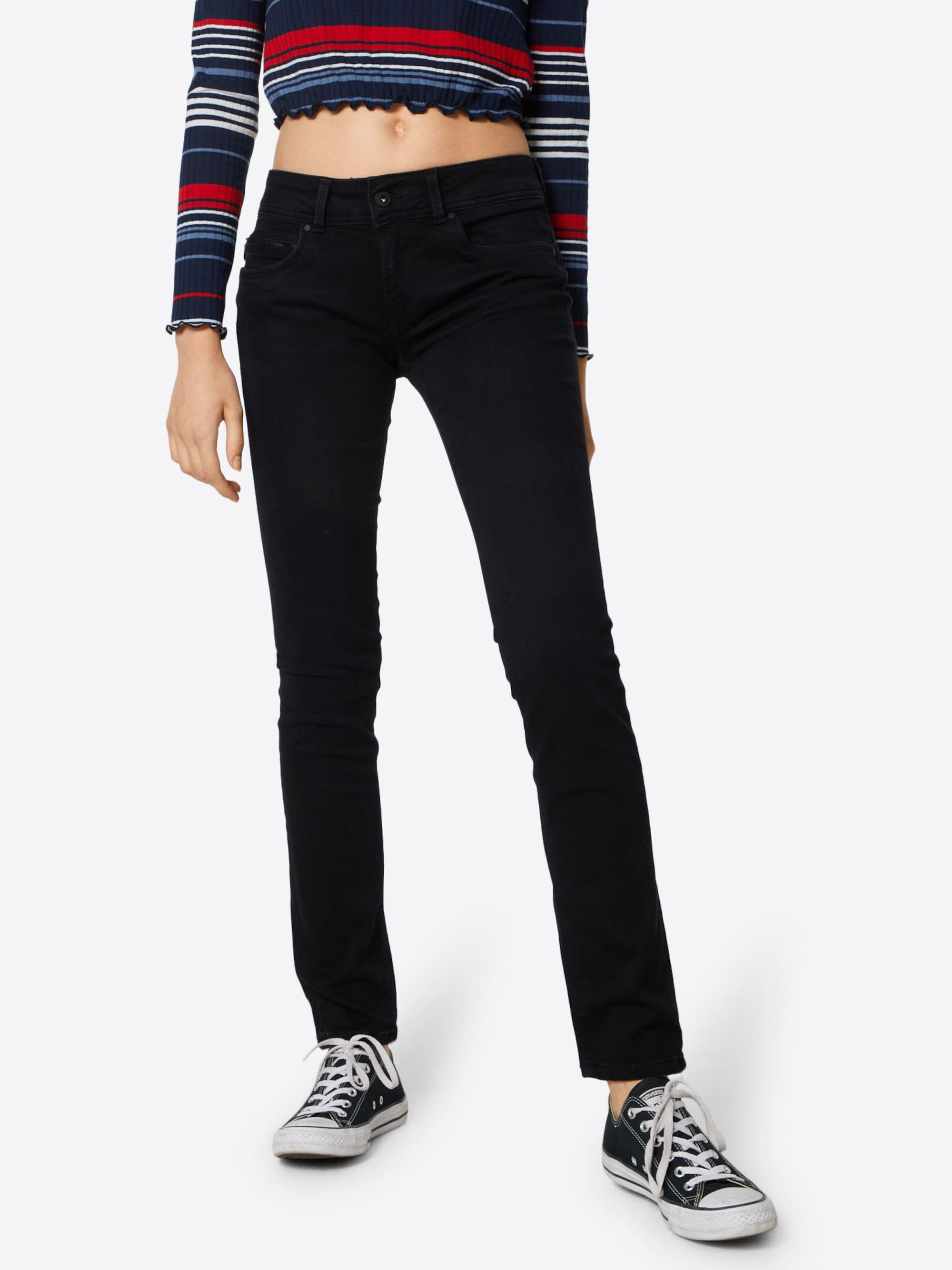 Pepe Jeans Jeansy 'New Brooke'  czarny denim