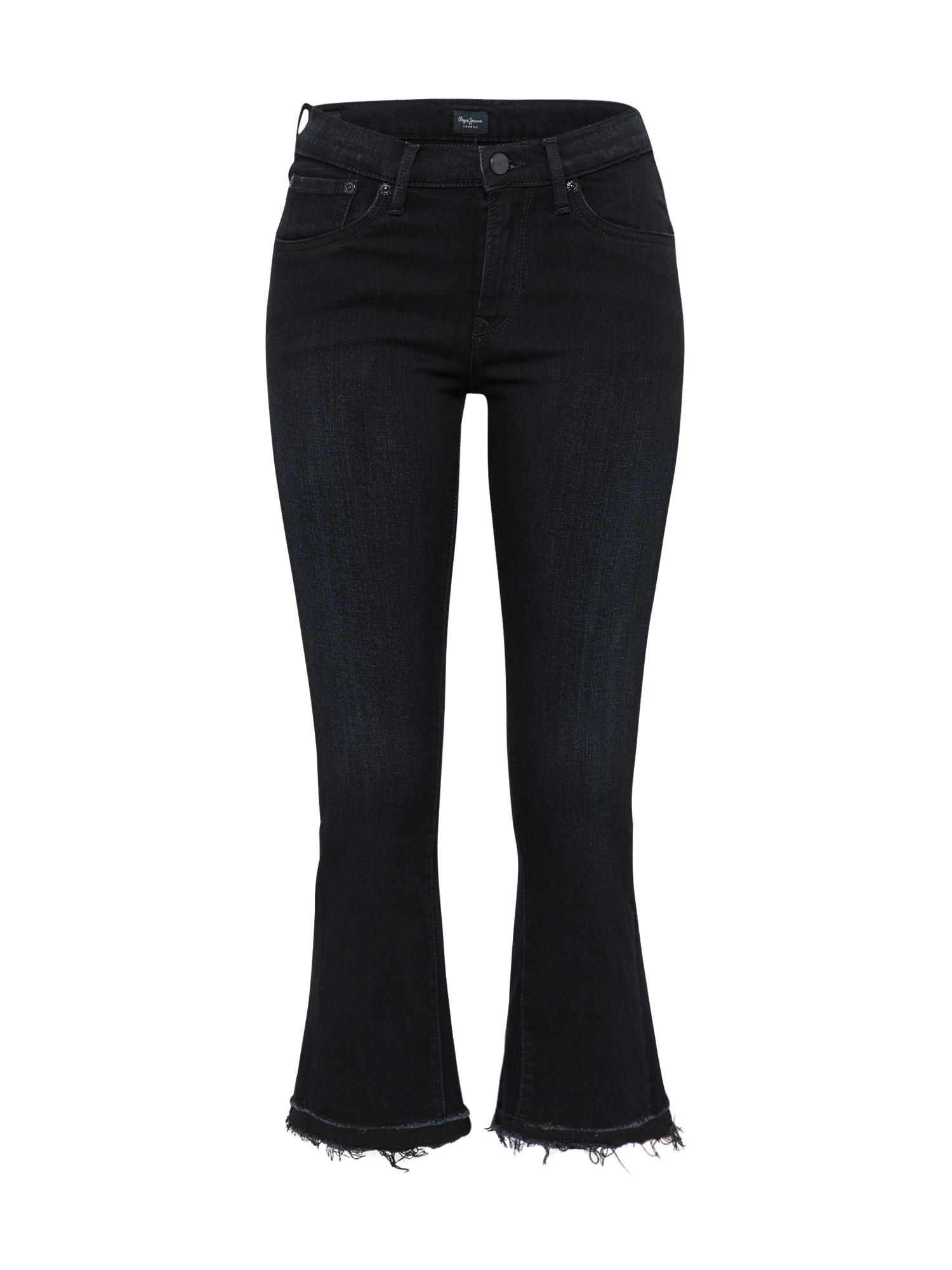 Džíny VICTORIA RUFFLES tmavě modrá Pepe Jeans