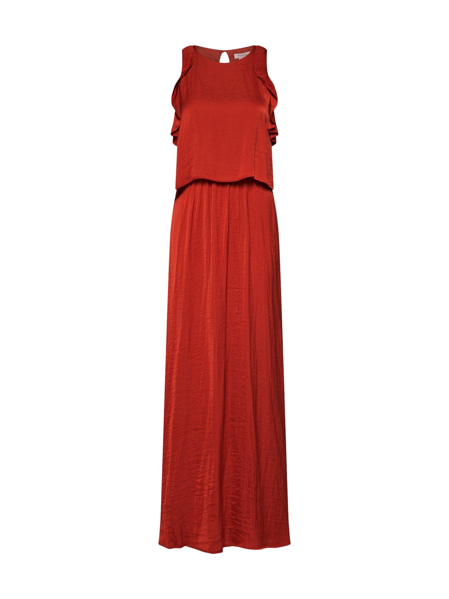 Společenské šaty Sage merlot SOAKED IN LUXURY
