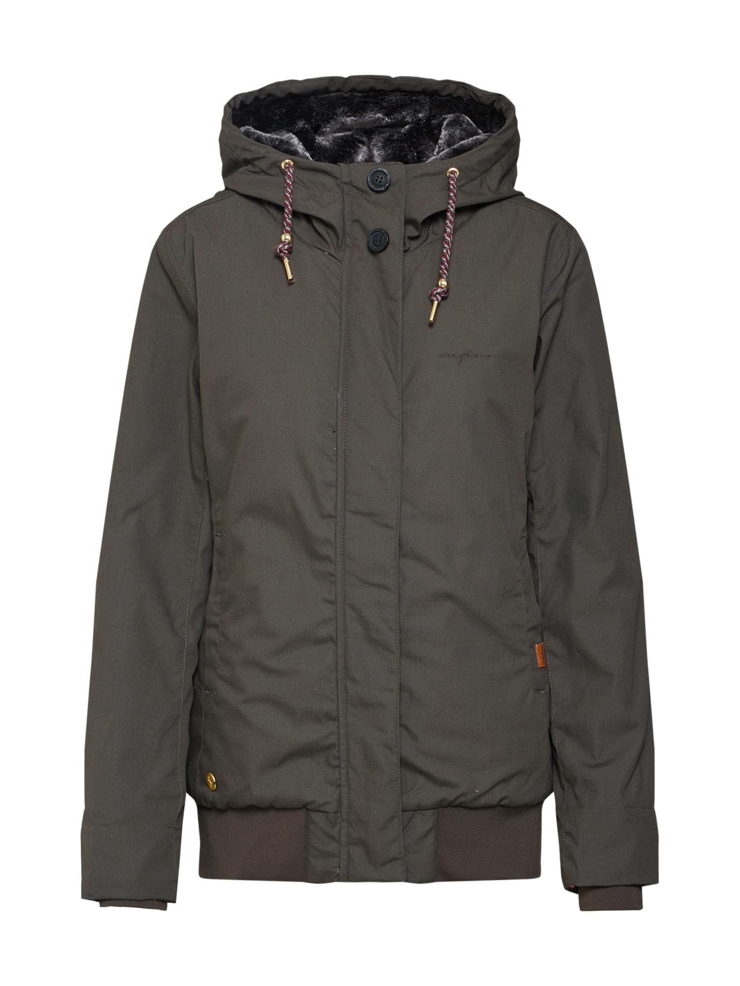Zimní bunda olivová Mazine
