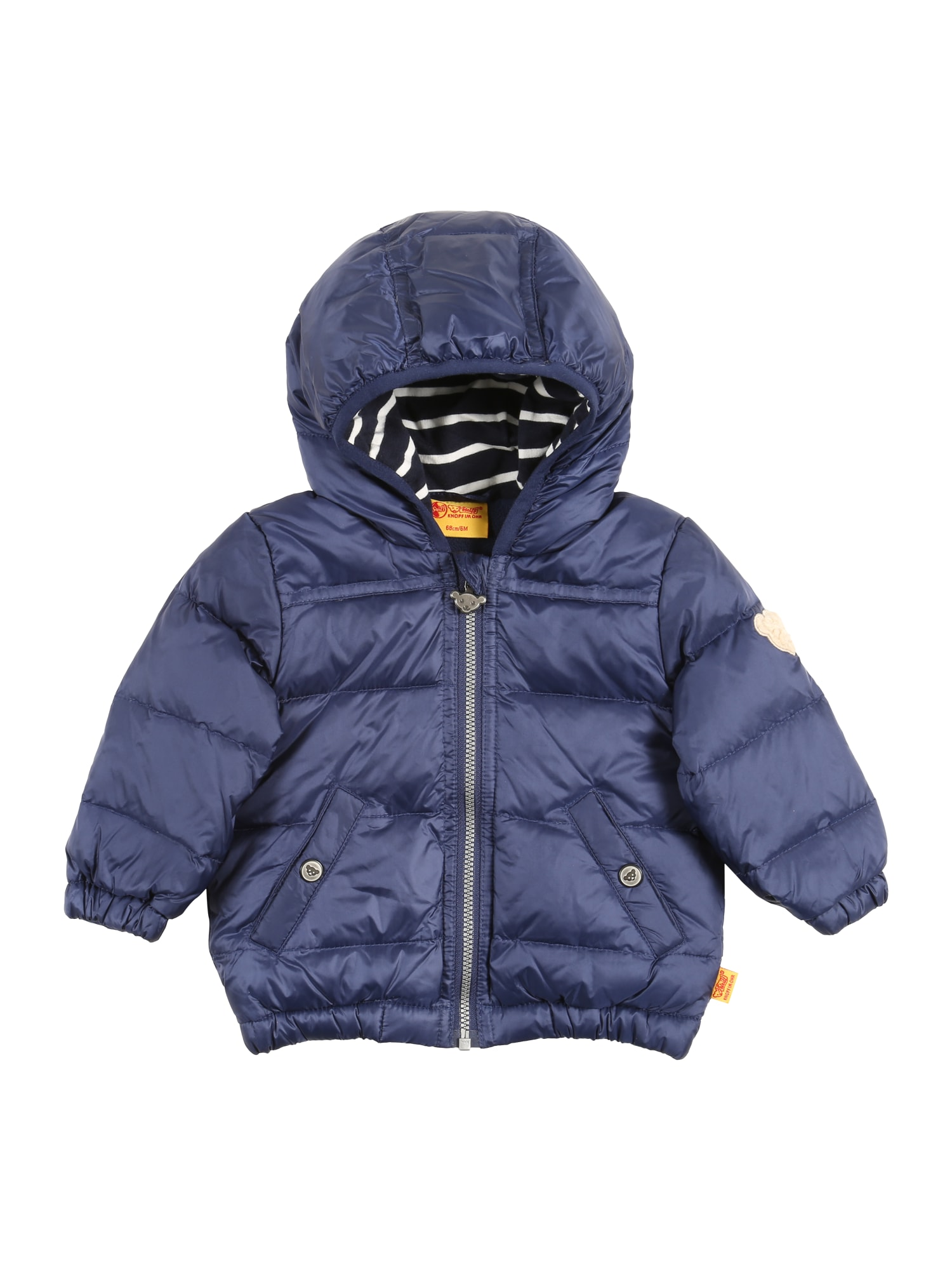 Přechodná bunda tmavě modrá bílá Steiff Collection