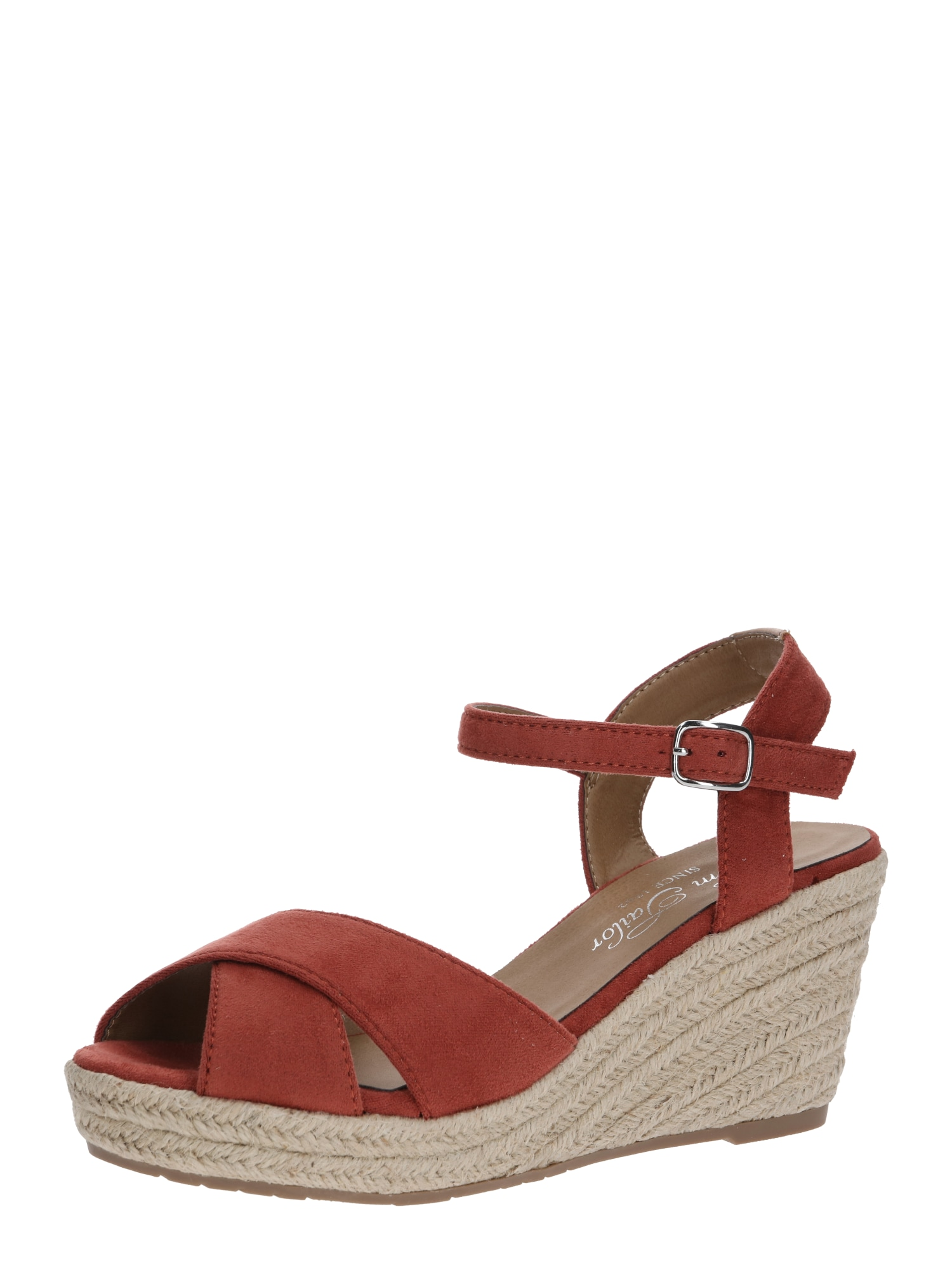 TOM TAILOR Remienkové sandále  oranžovo červená / koralová