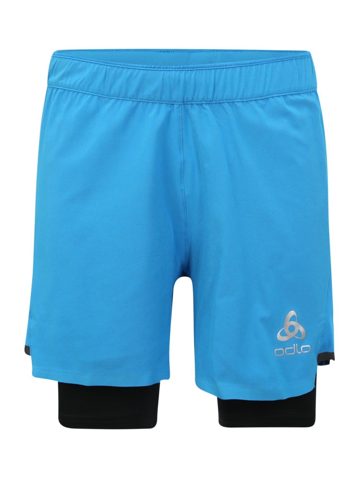ODLO Sportovní kalhoty 'ZEROWEIGHT CERAMICOOL PRO'  modrá