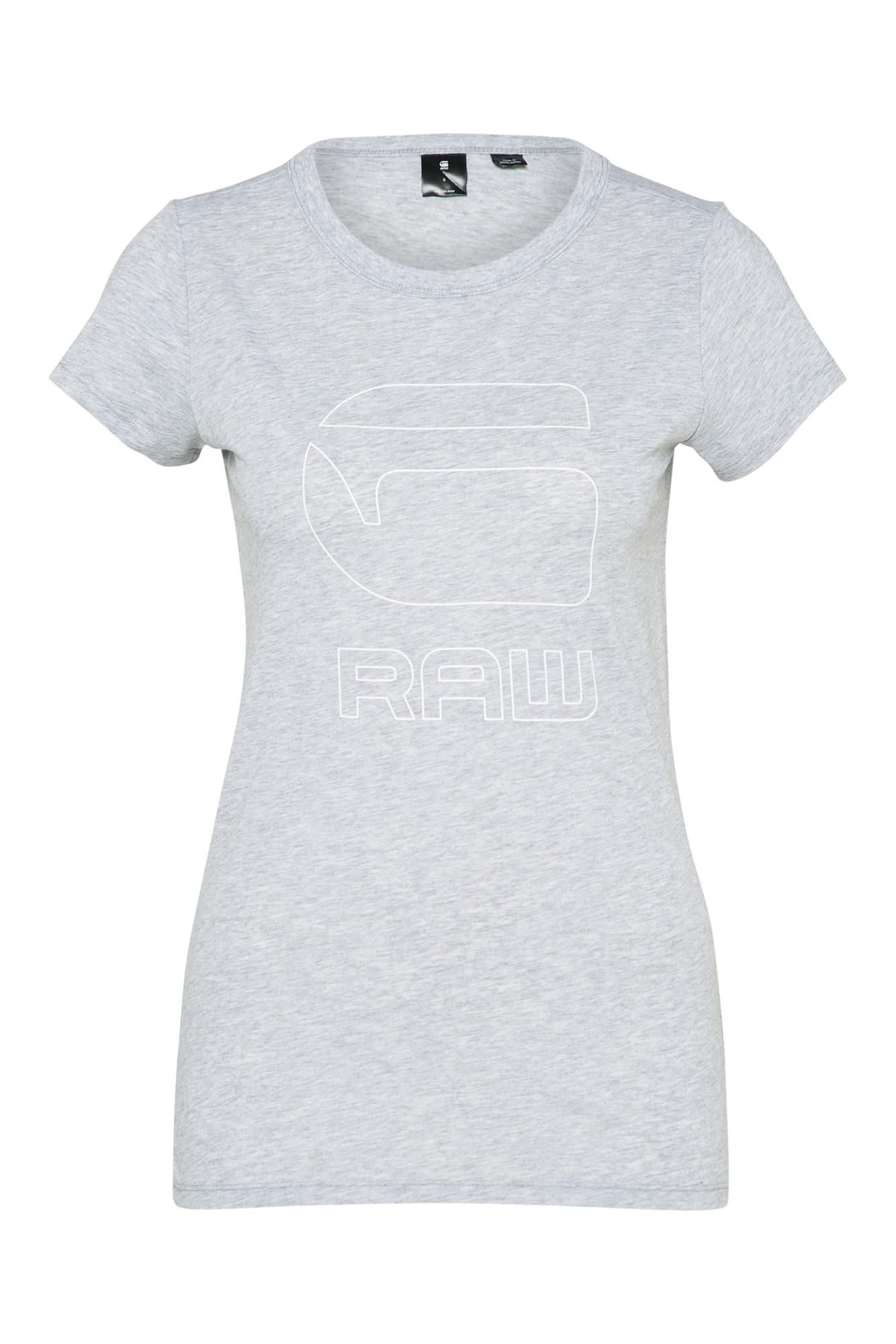 G-STAR RAW Dames Shirt Cirst grijs gemêleerd