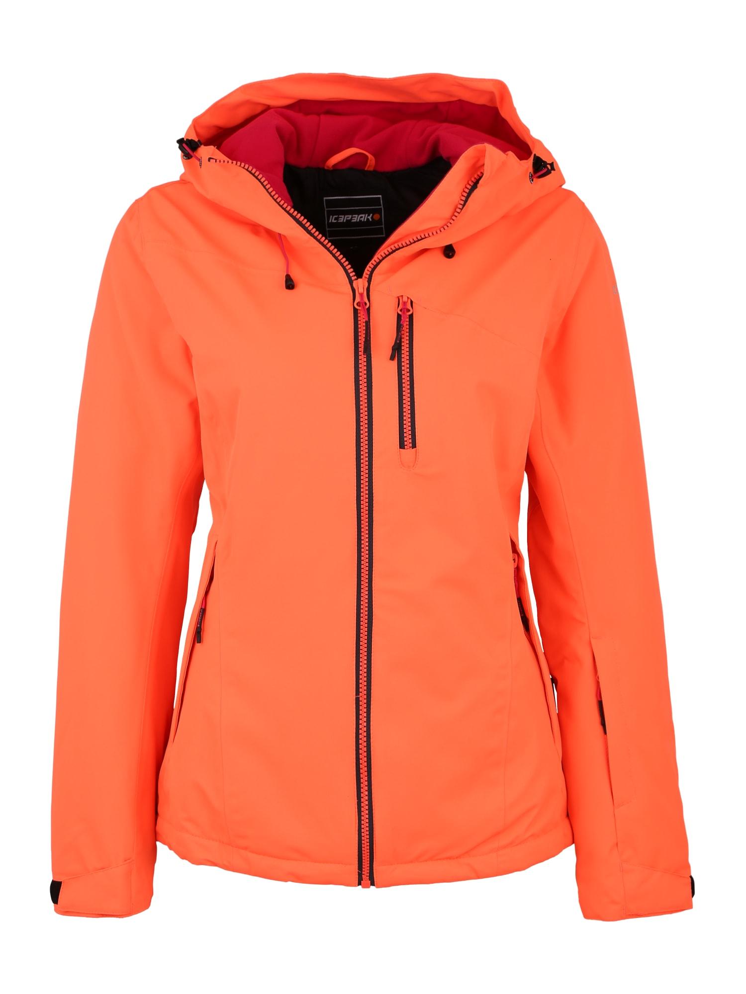 Outdoorová bunda KIRA oranžová ICEPEAK
